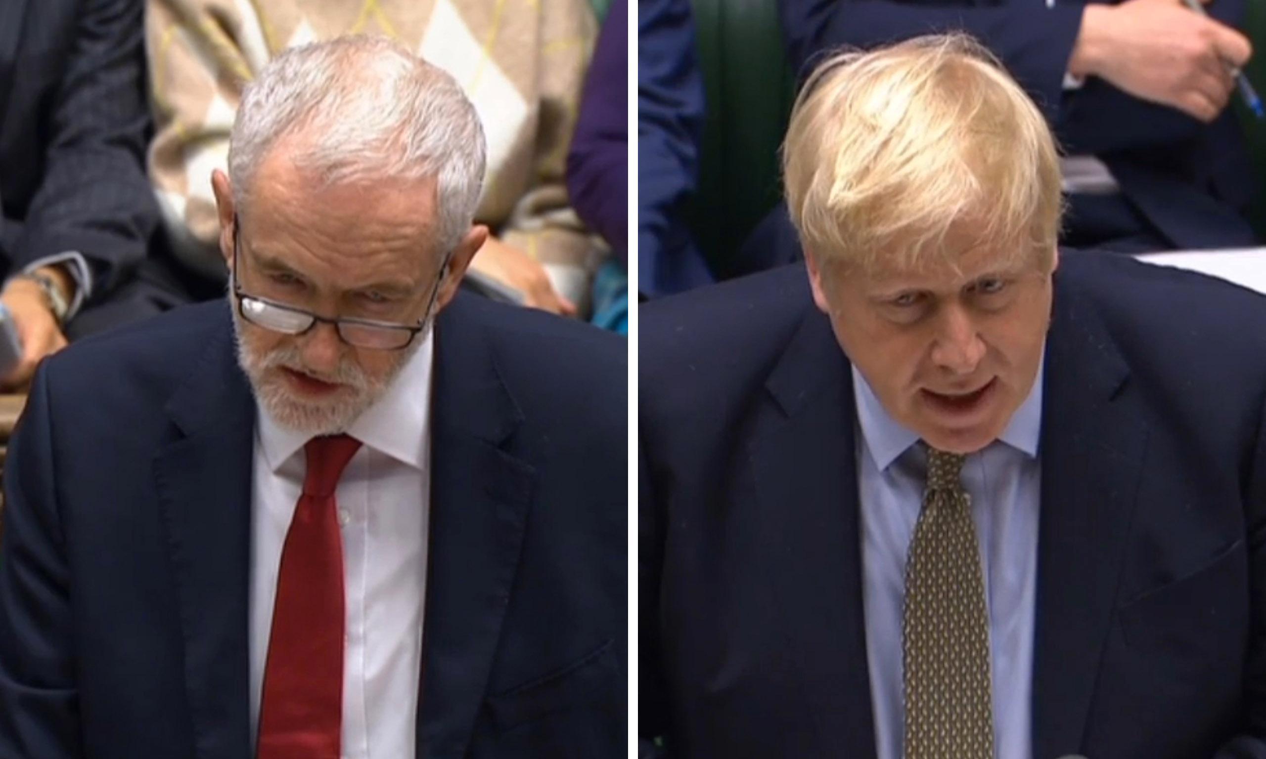 PMQs verdict: Johnson and Corbyn clash over Iran missile attack