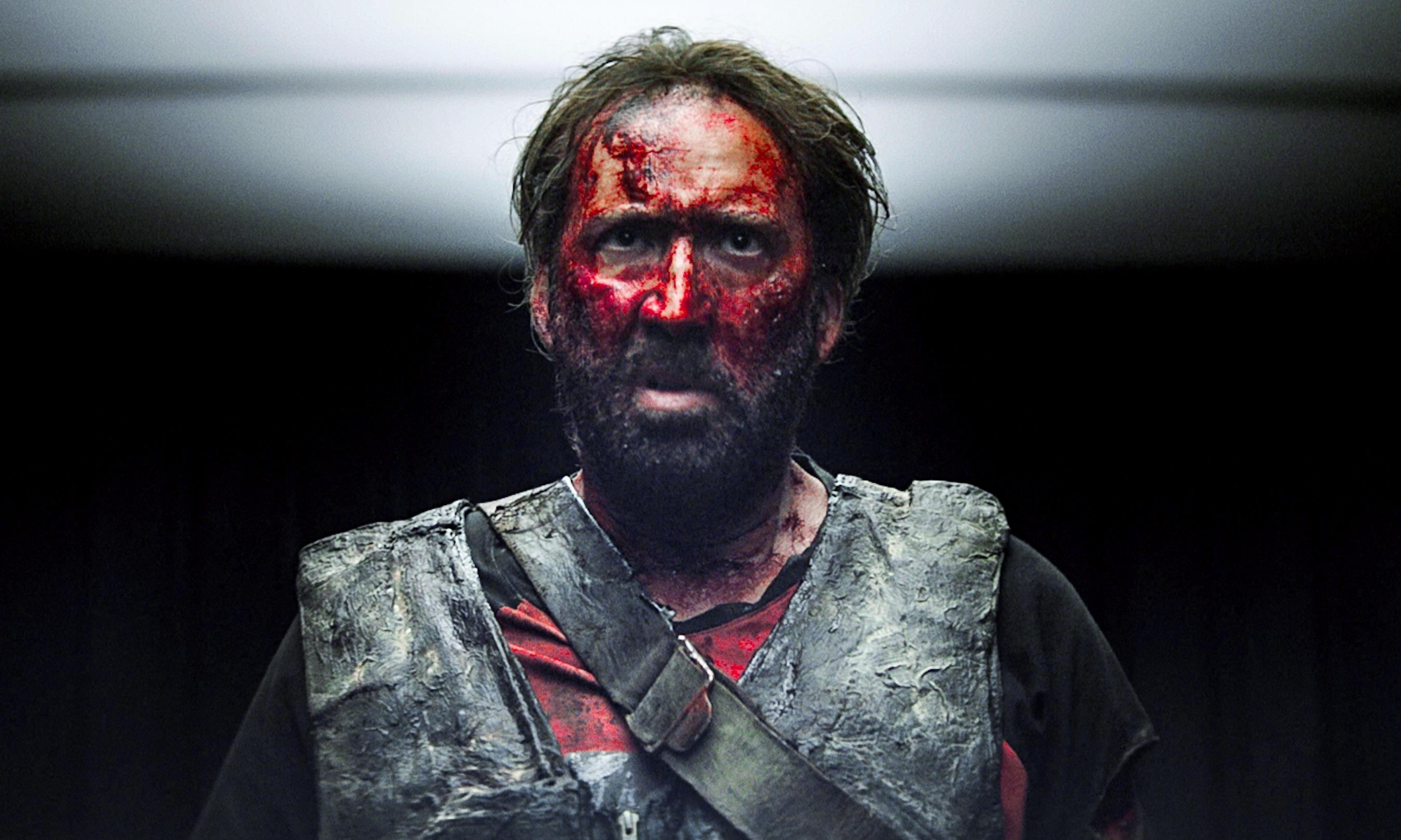 Mandy review – fabulously ferocious Nicolas Cage revenge horror
