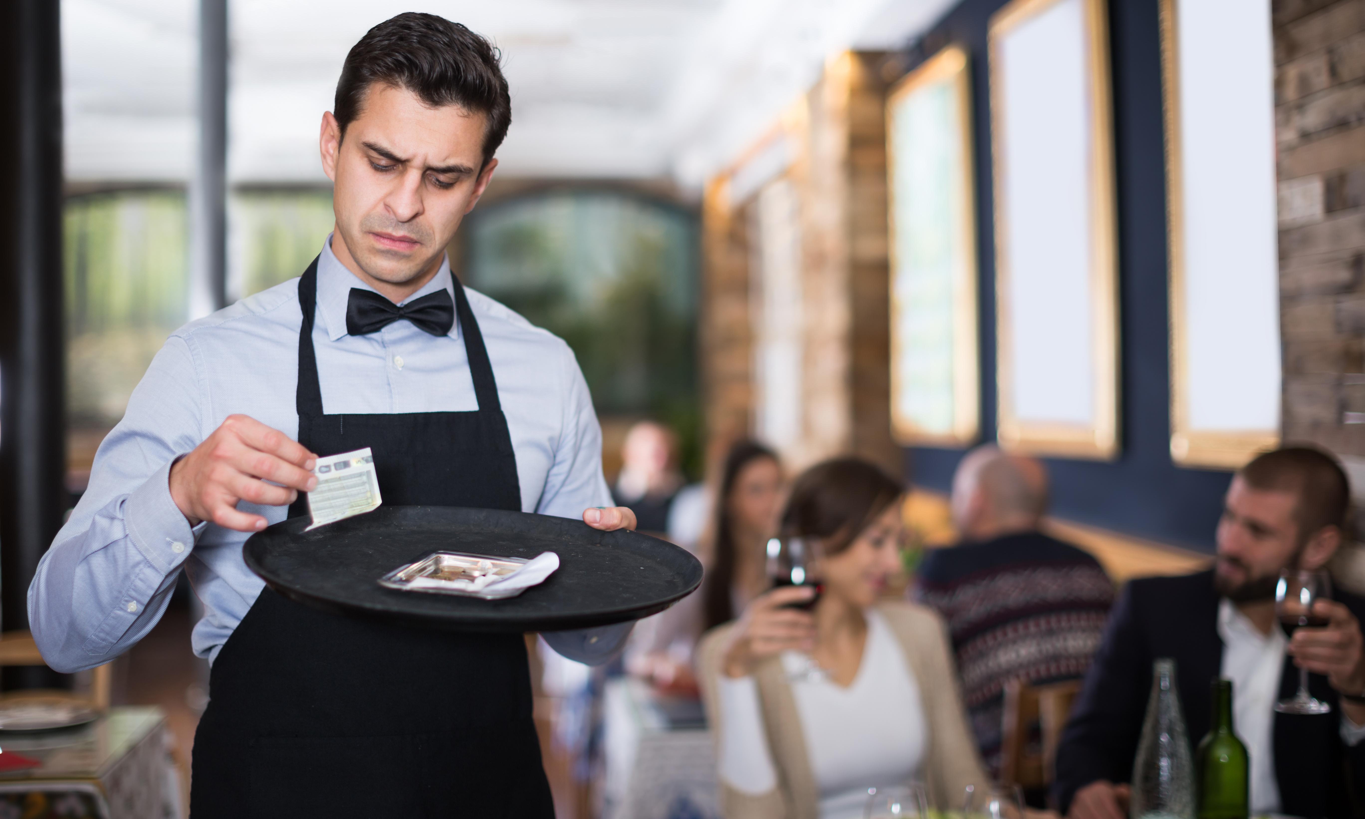Not so hospitable – waiters on their restaurant horror stories