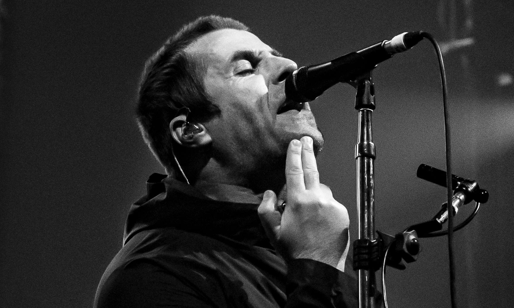 Liam Gallagher review – haunted by his brother's ghost