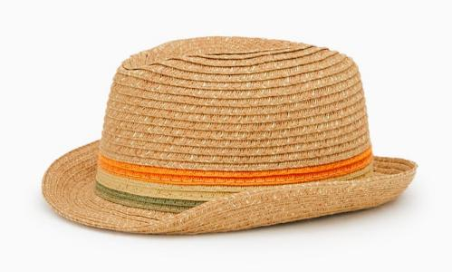Straw hat, £5.99, Zara.