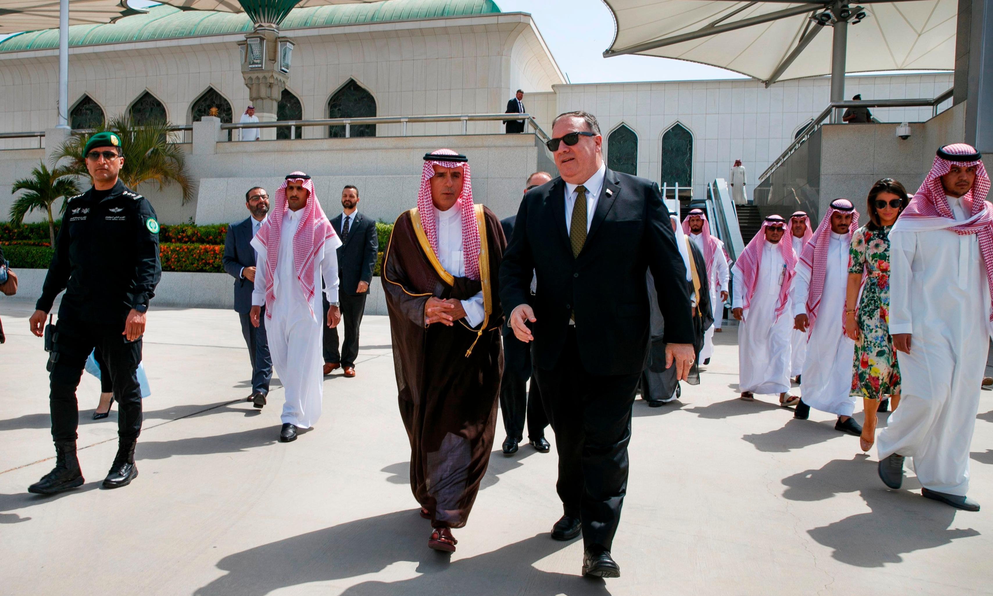 Mike Pompeo didn't raise Jamal Khashoggi murder in meeting with Saudi king