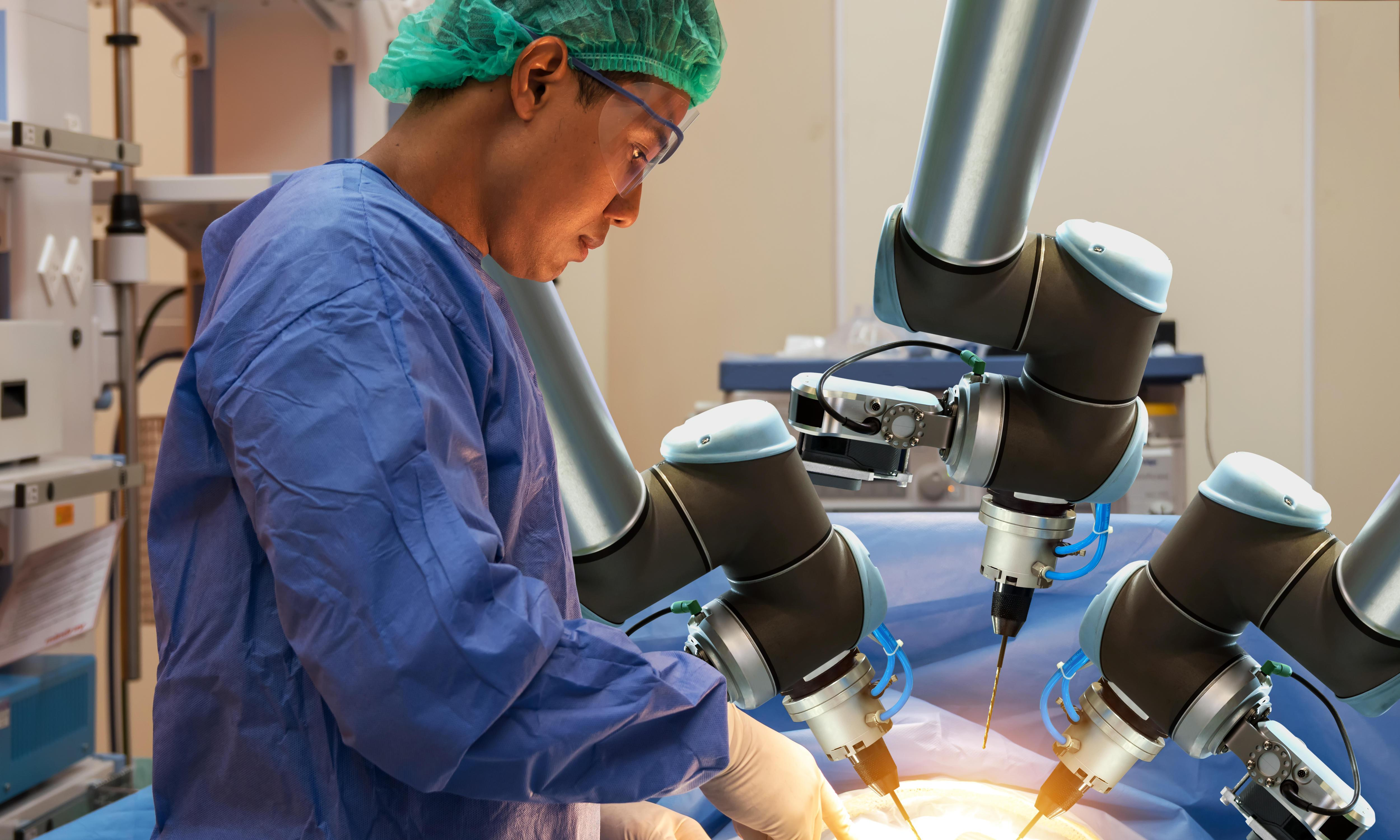 Will robots make doctors obsolete? Nothing could be further from the truth