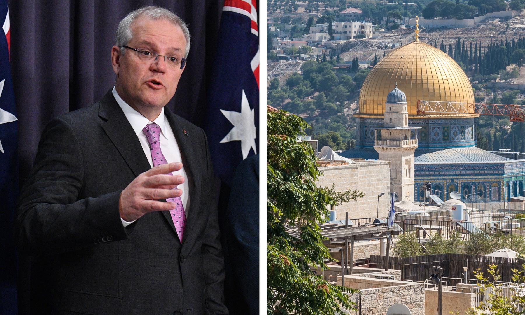 Palestinians call on Muslim states to target Australian exports over Jerusalem embassy