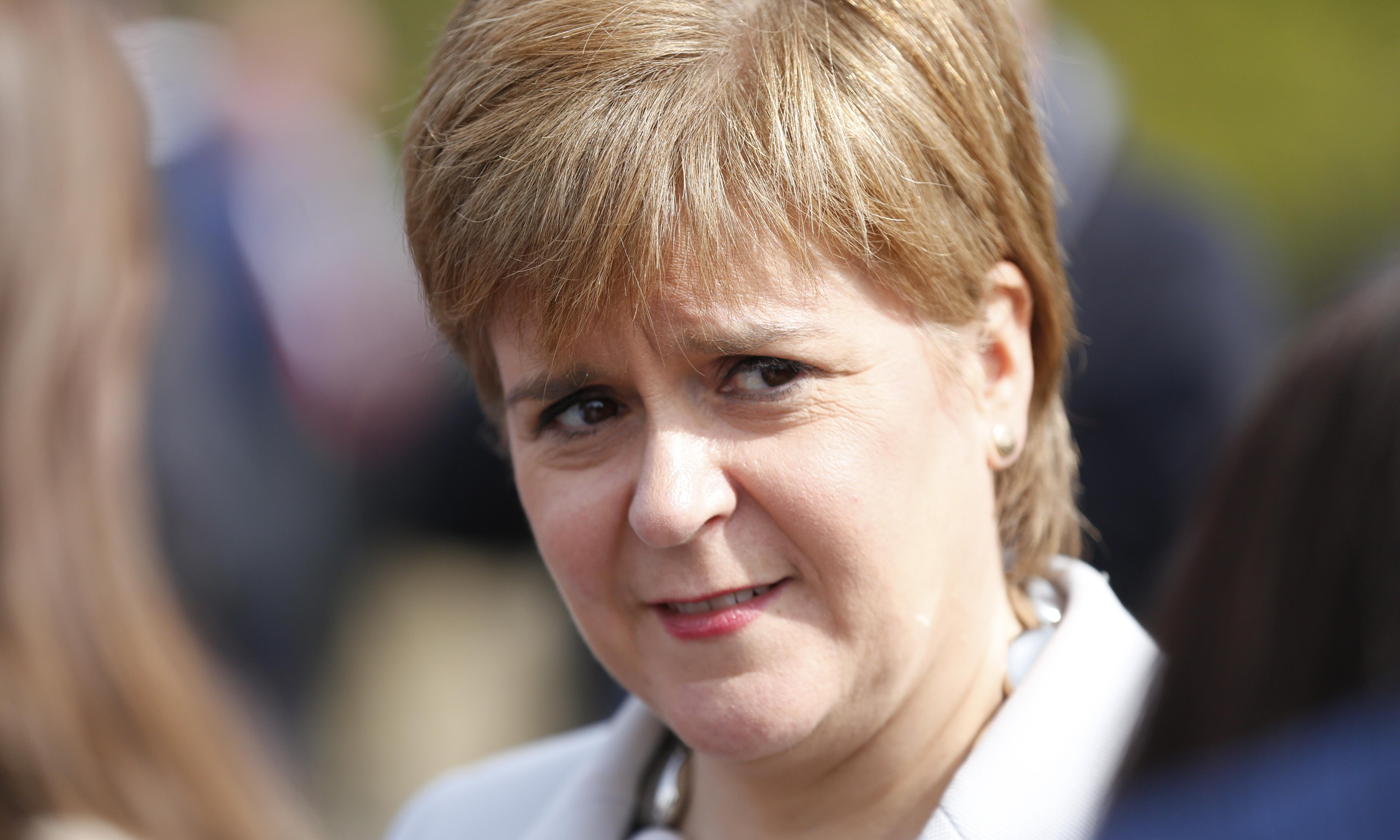 Vote SNP even if you're against independence, Sturgeon urges Scots