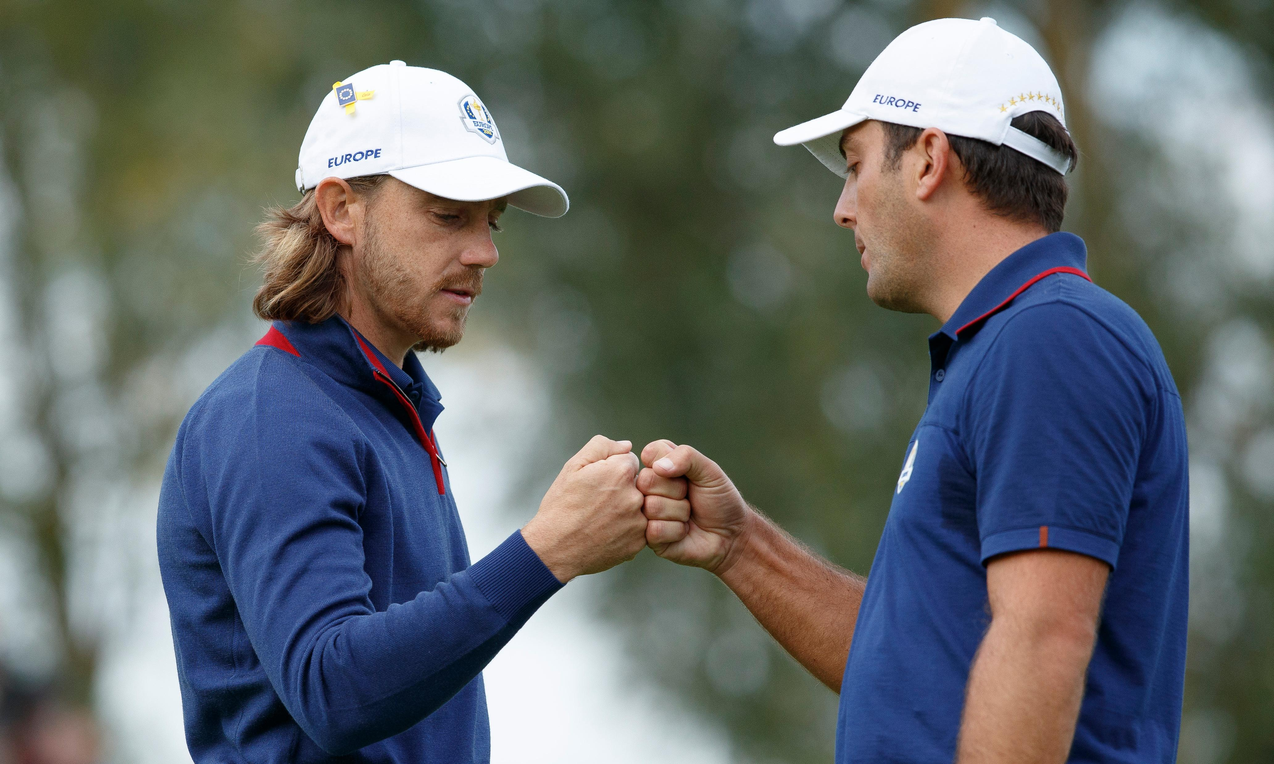 Tommy Fleetwood hails 'unreal' day as Europe roar back in Ryder Cup