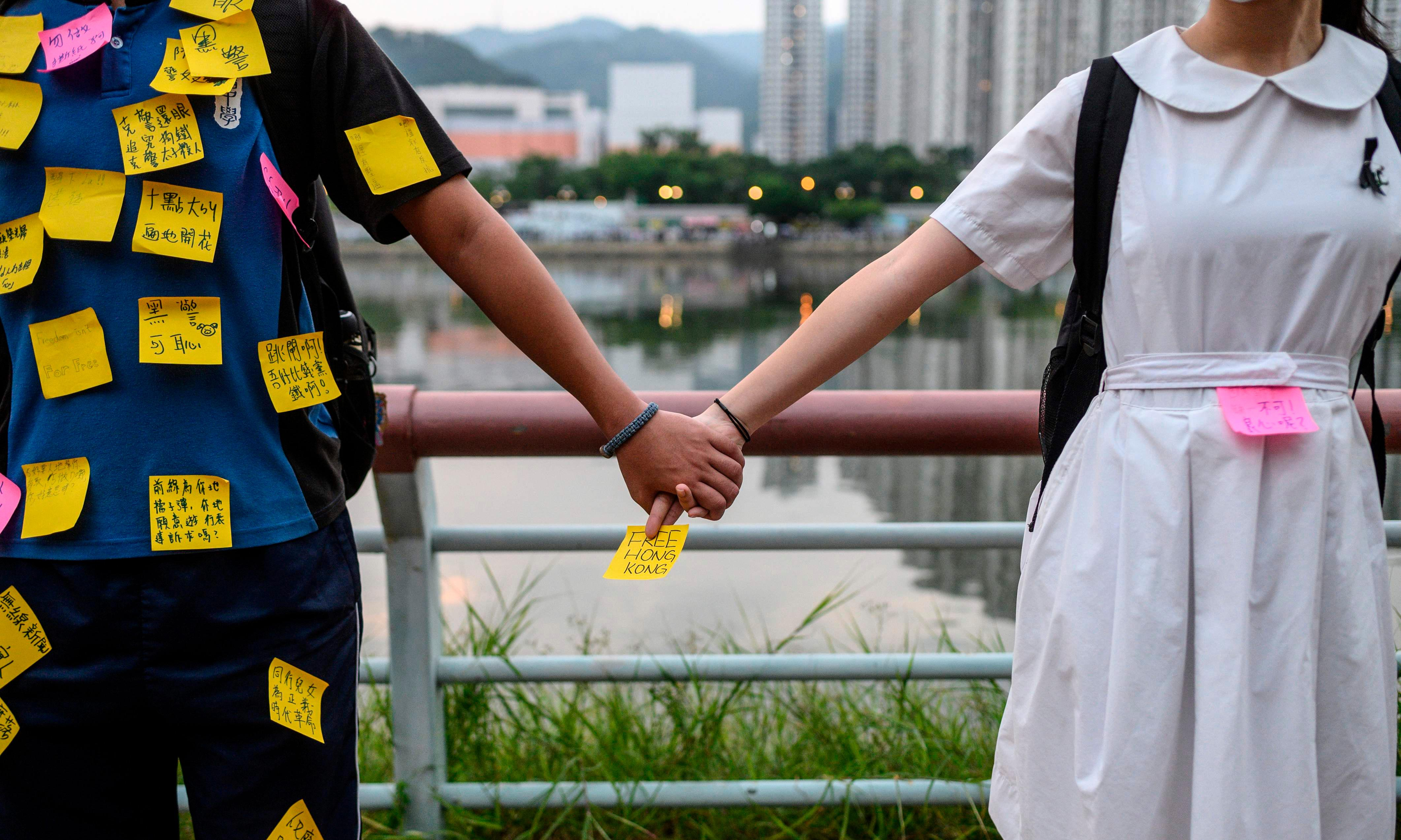 Children of the revolution: the Hong Kong youths ready to 'sacrifice everything'
