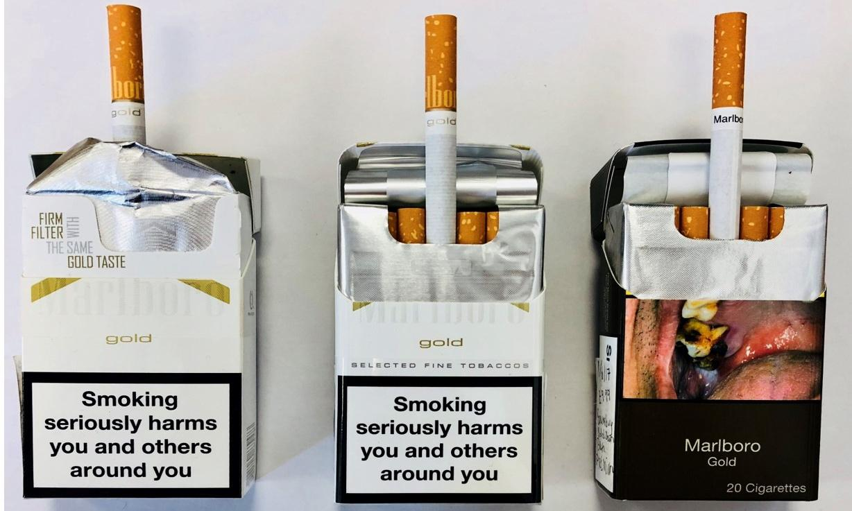 Tobacco firms accused of using gimmicks to subvert plain packaging
