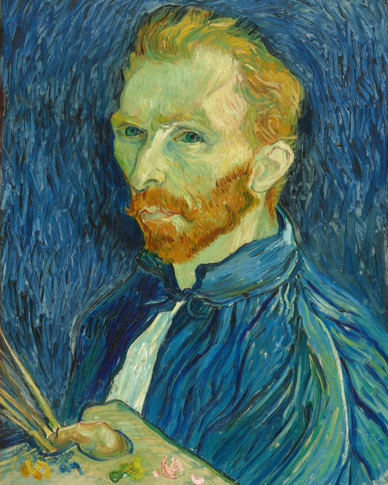Vincent van Gogh's painting Self-Portrait.
