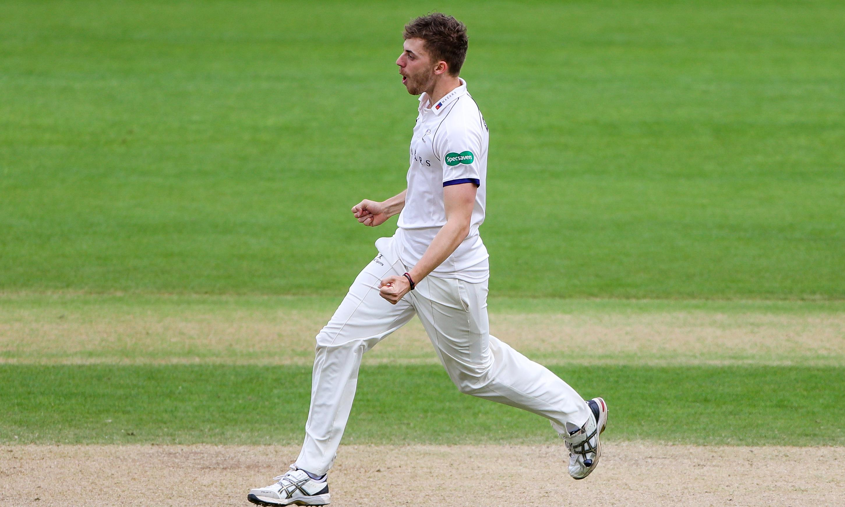 Hampshire's bowlers blow up a storm but rain confounds leaders Somerset