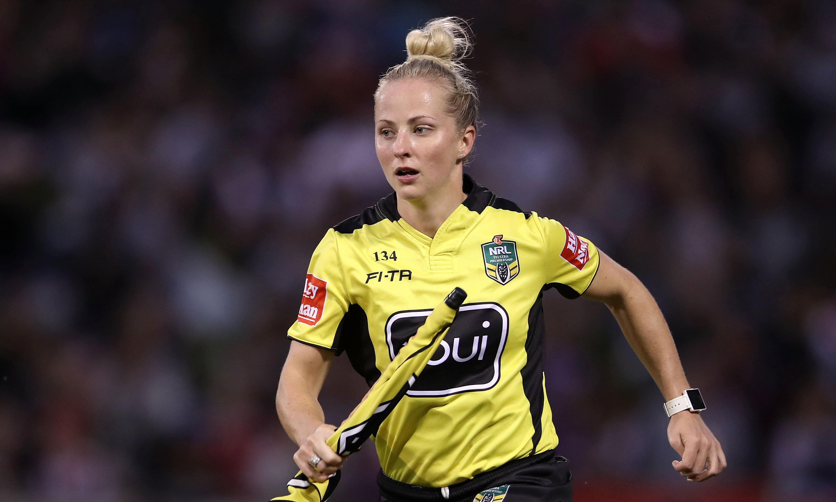 'Step in the right direction': Broncos match to make history with female referee