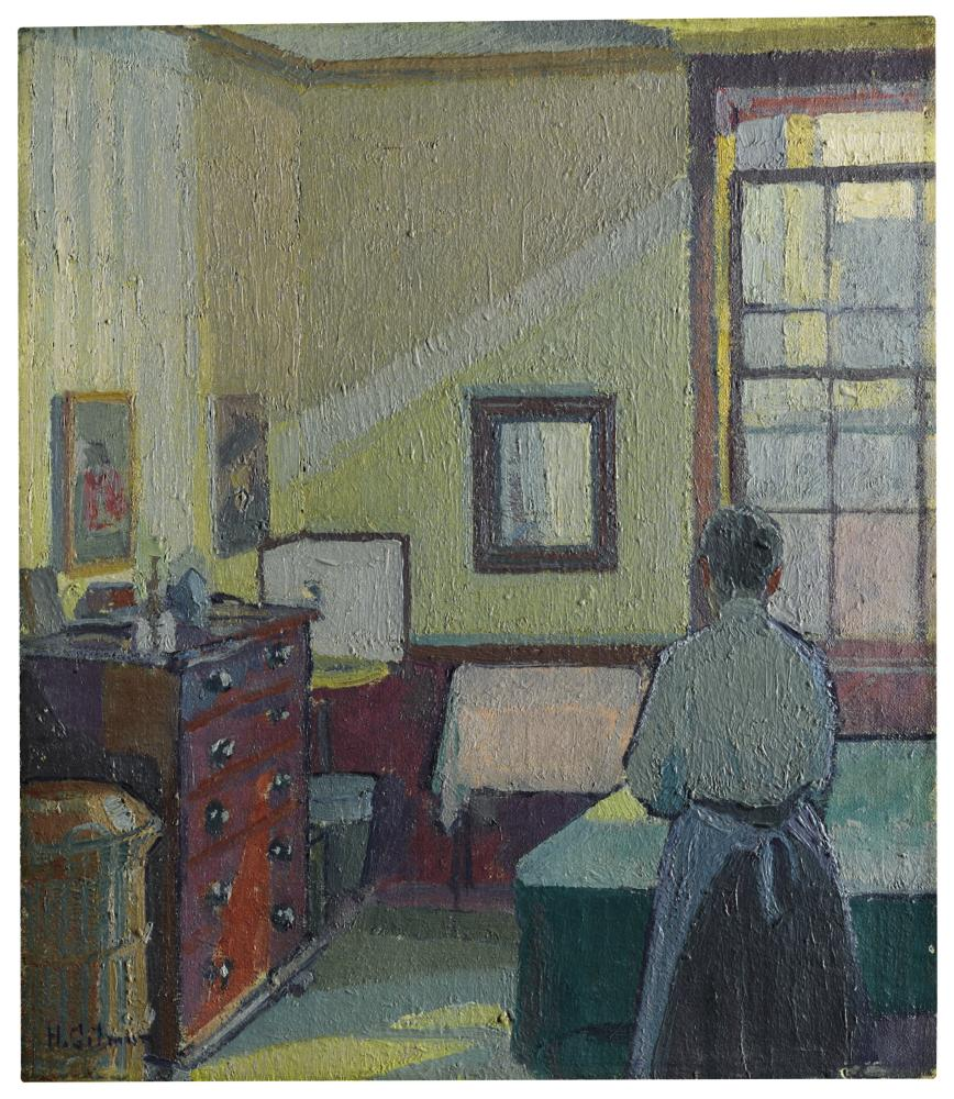 Harold Gilman, Interior (Mrs Mounter).