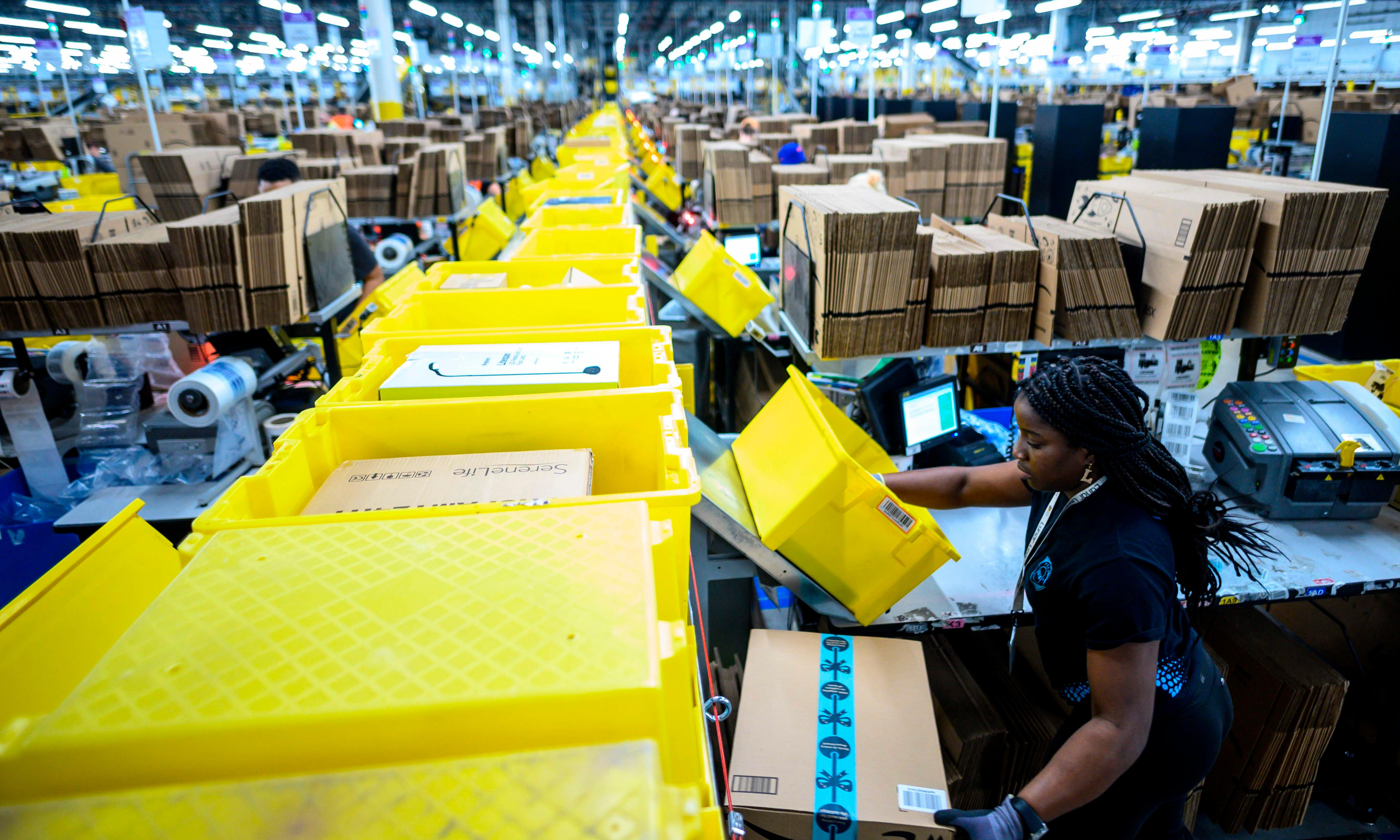 'Go back to work': outcry over deaths on Amazon's warehouse floor
