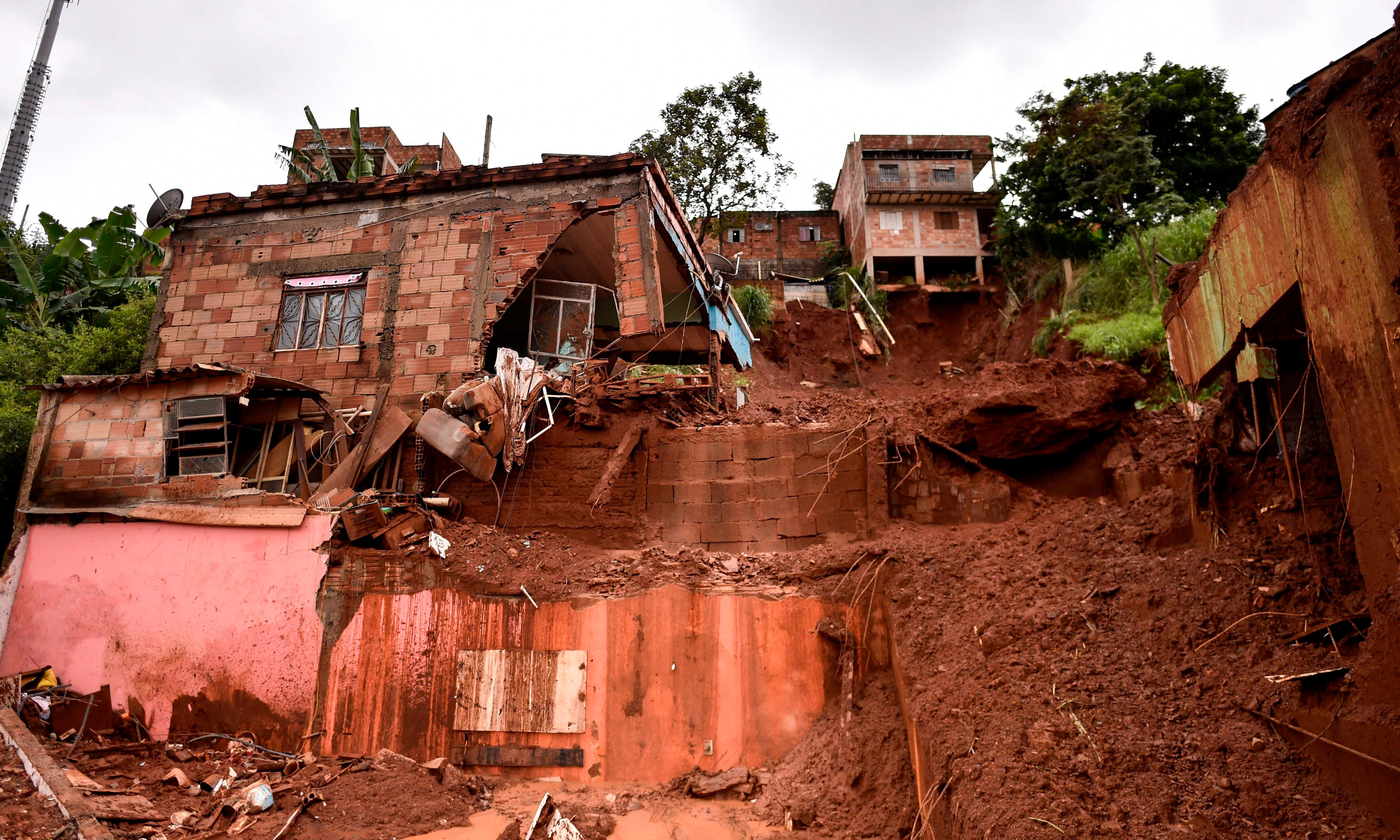 Scores dead as heavy rains bring landslides and evacuations in Brazil