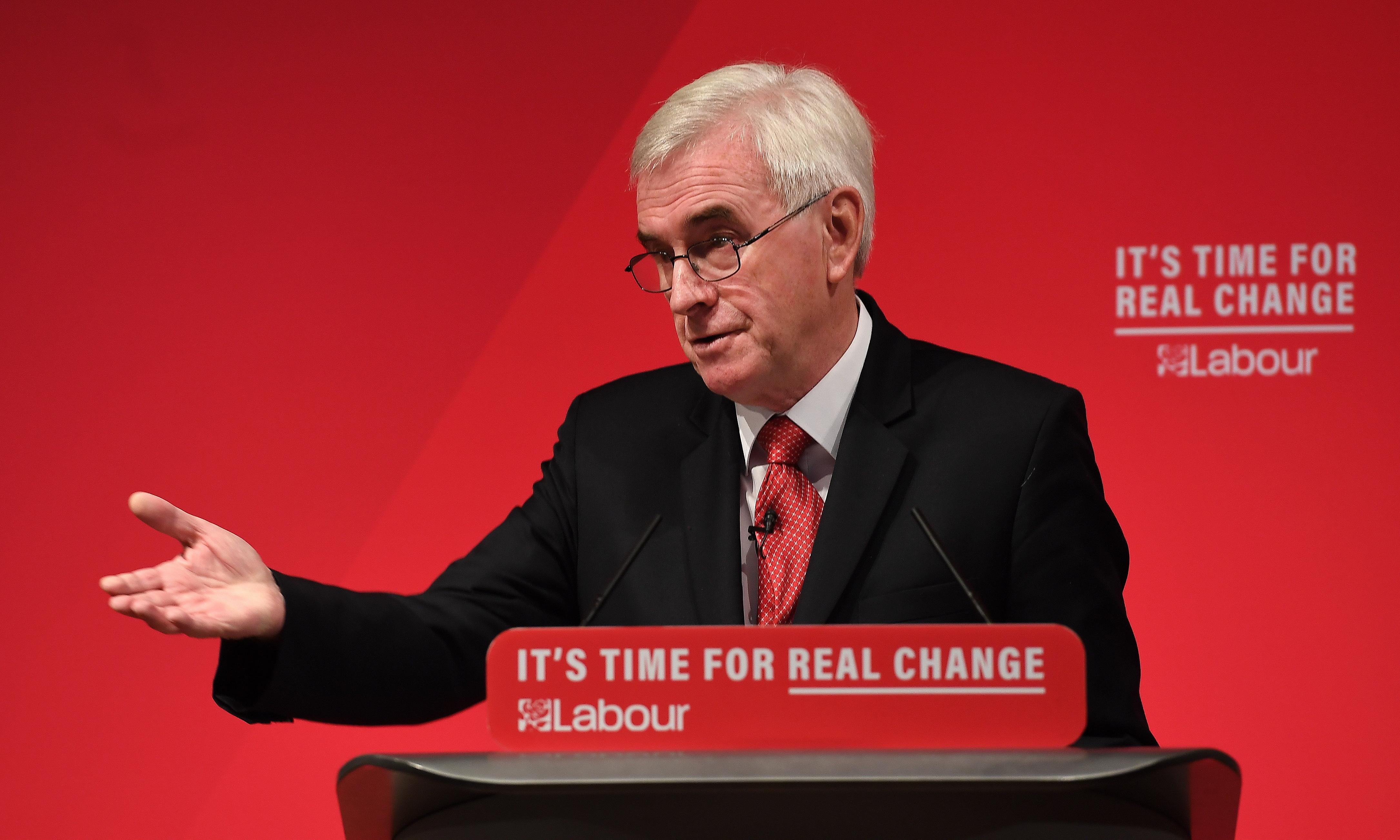 Labour pledges to eliminate '10 modern scourges of poverty'