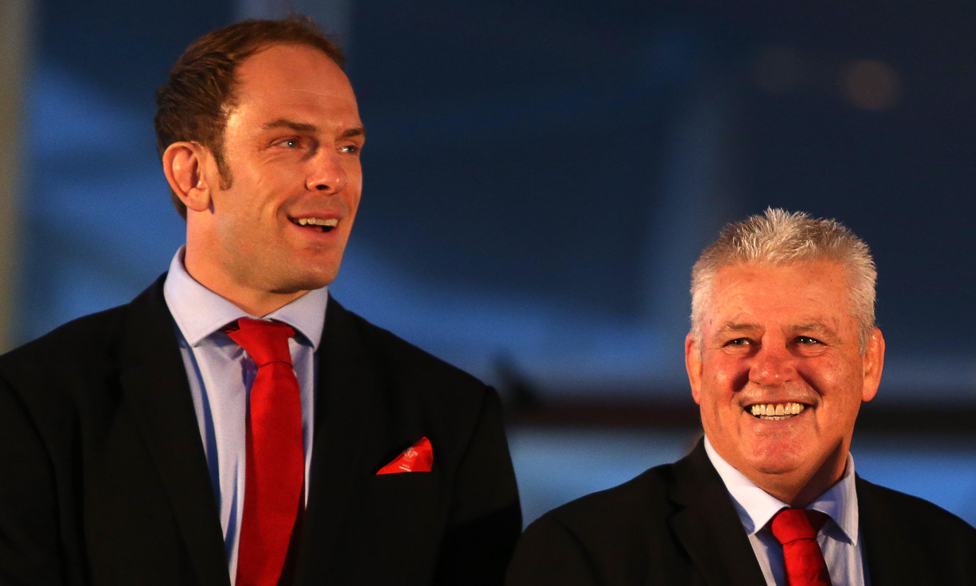 Alun Wyn Jones says don't rule out Warren Gatland coaching England