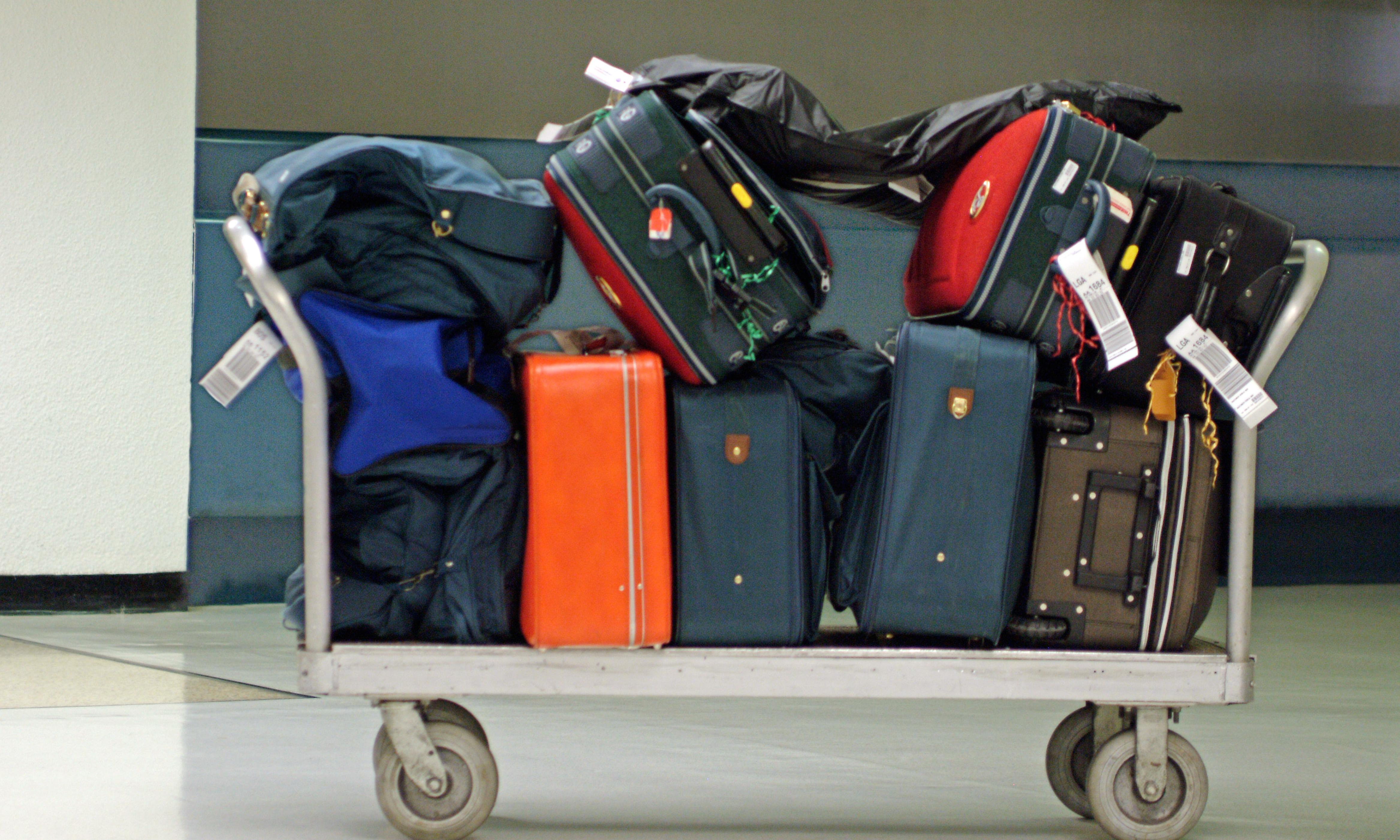 Would you run 100 miles in brogues? The worst cases of lost luggage