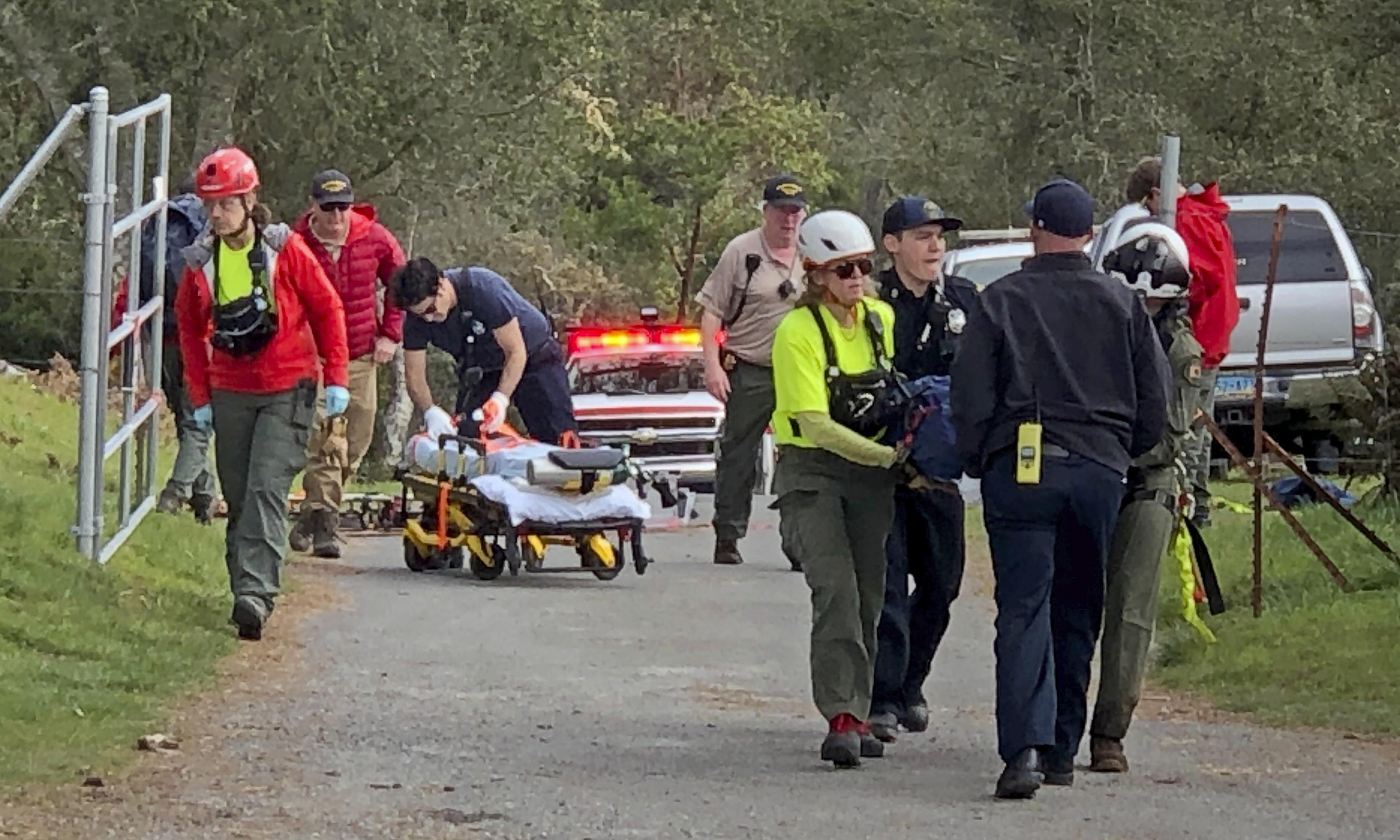 California couple lost in woods survived by drinking from puddle and eating ferns
