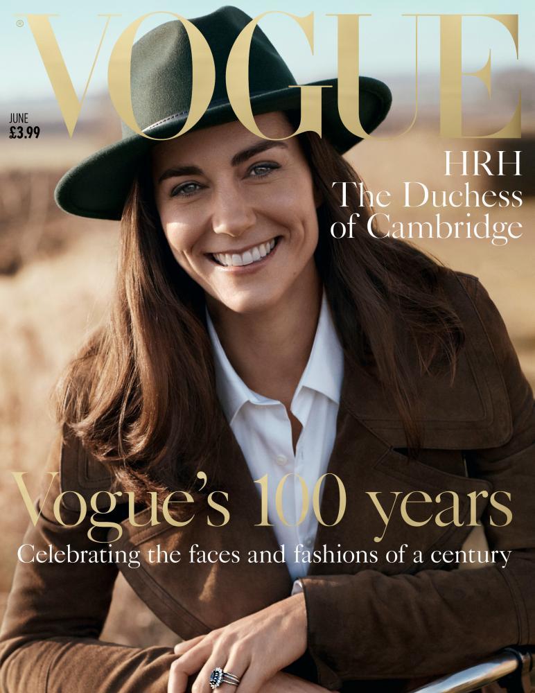 Vogue Duchess of Cambridgeissue