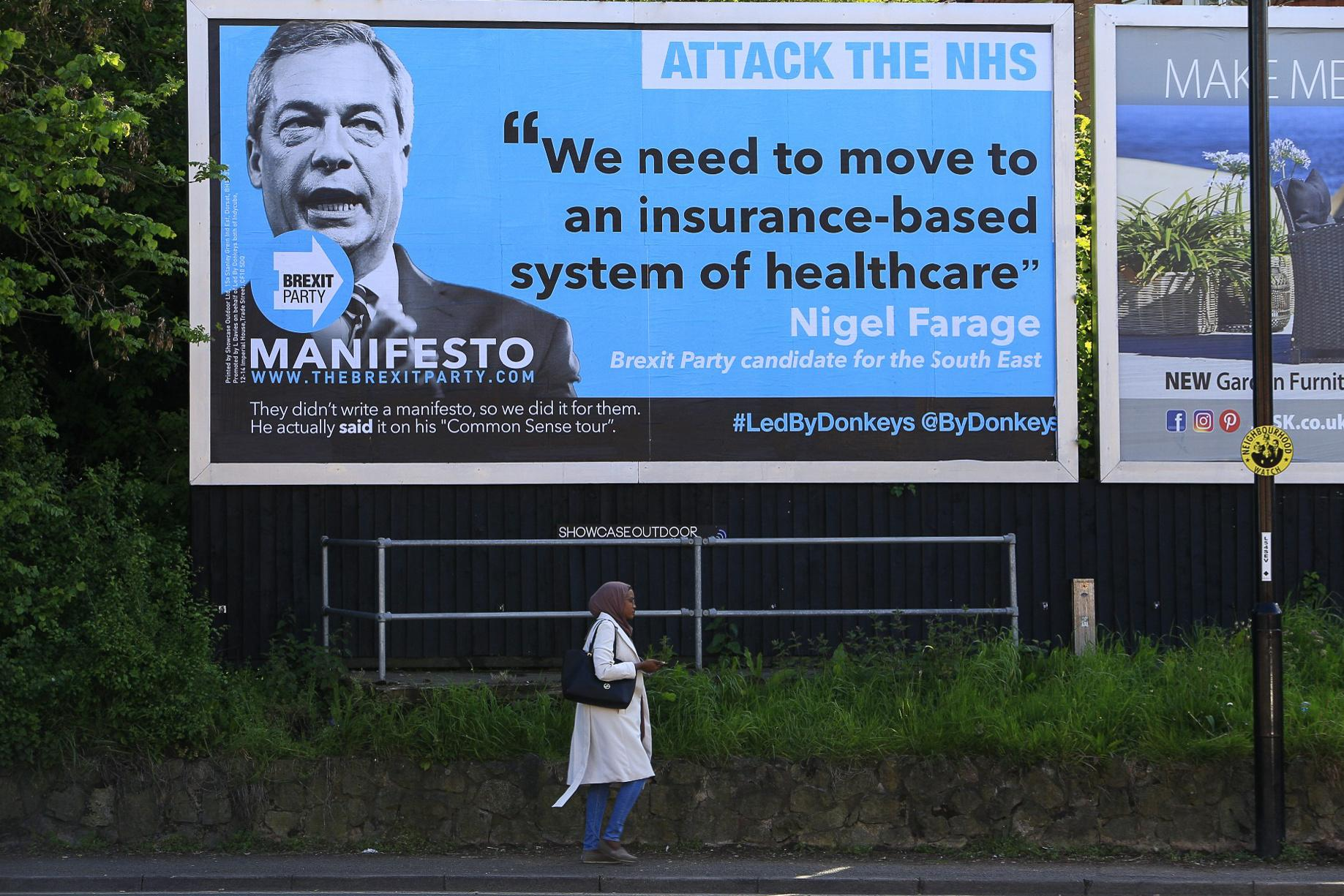 Why the Led by Donkeys billboards won't change anyone's mind on Brexit