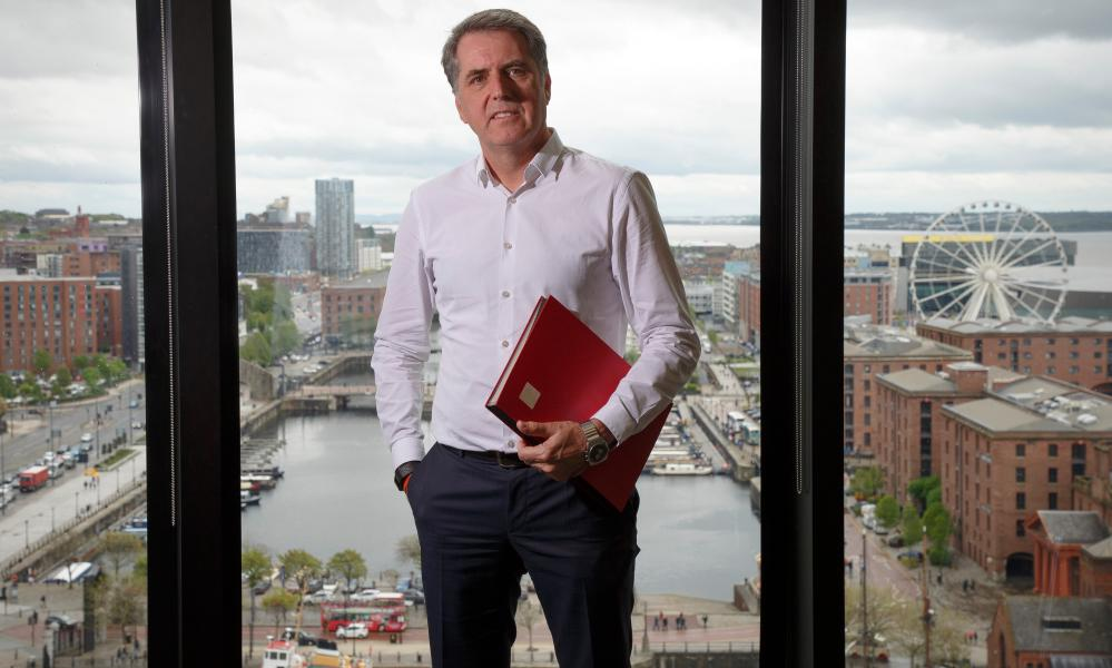 Steve Rotheram, the metro mayor for Liverpool, would have preferred a short circuit breaker.