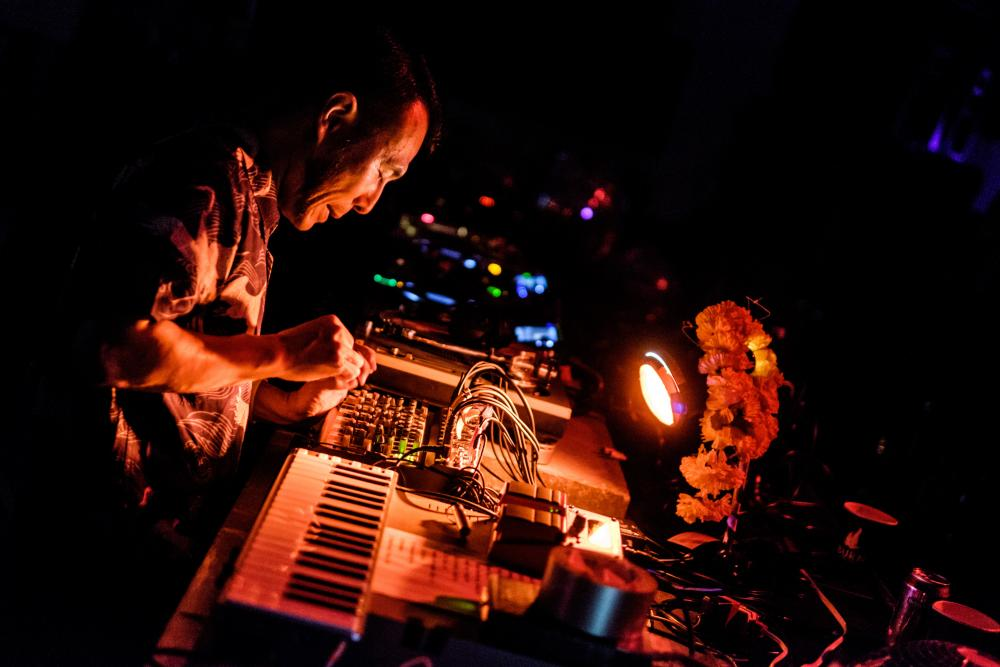 Soichi Terada performing at Strøm festival 2016.