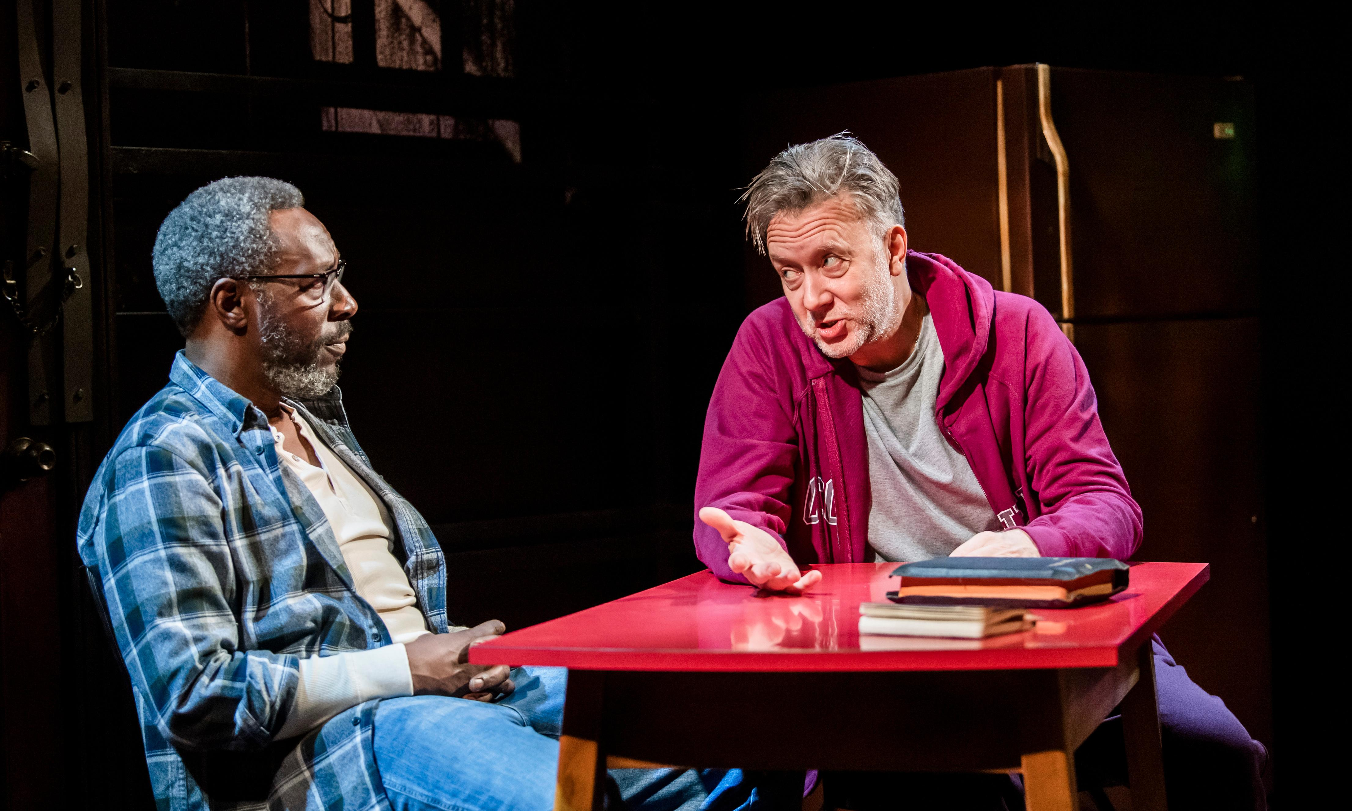 The Sunset Limited review – Cormac McCarthy two-hander is all talk