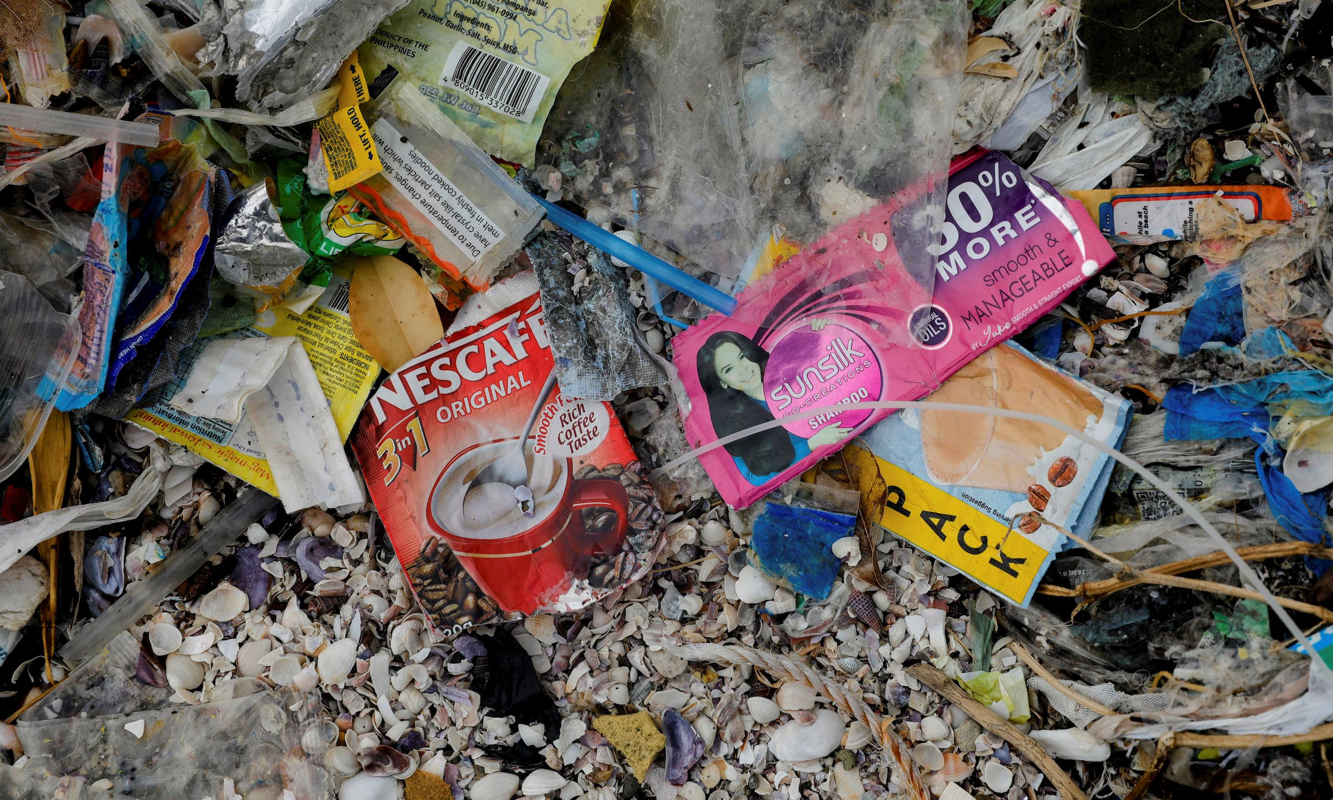 UK must act to stamp out 'curse' of plastic sachets, say campaigners