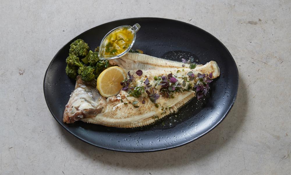 'Fish get star billing': plaice.