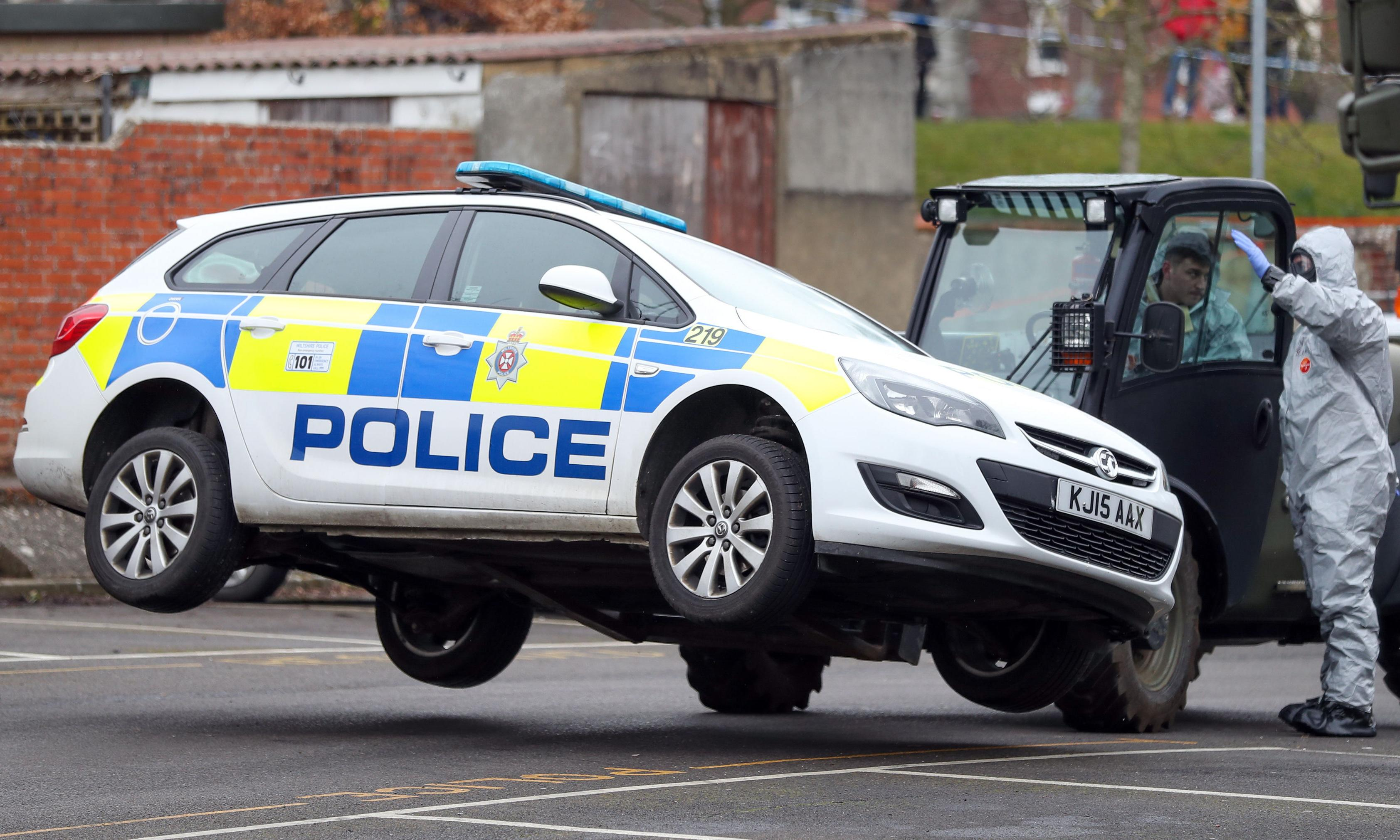 Emergency services spent £900k replacing vehicles after Salisbury attack