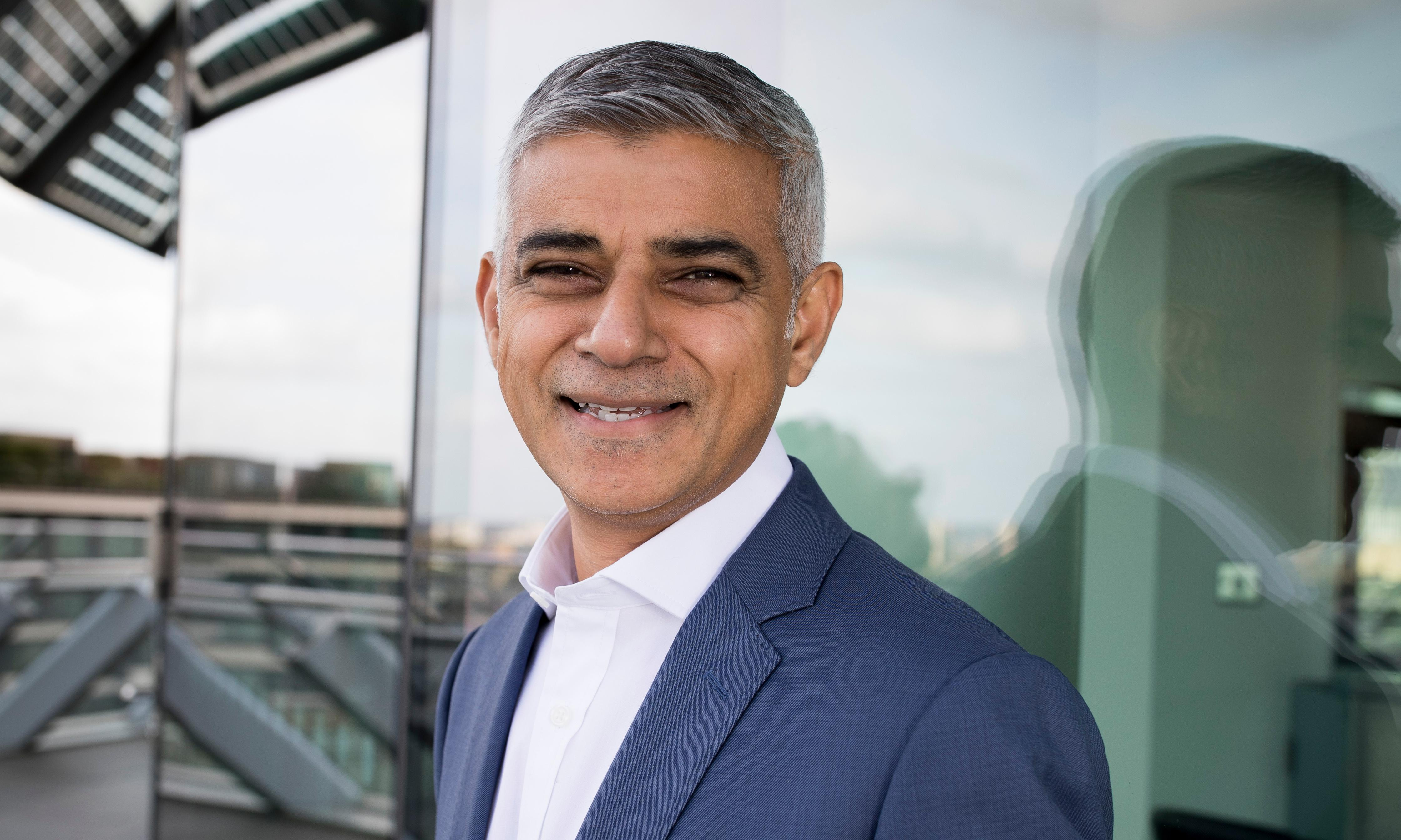 Sunday with Sadiq Khan: 'With more than 30 of us, lunch is total chaos'