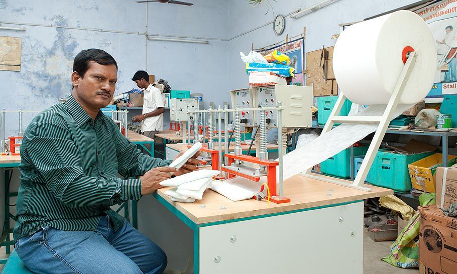 India's sanitary towel hero Pad Man bound for Bollywood glory