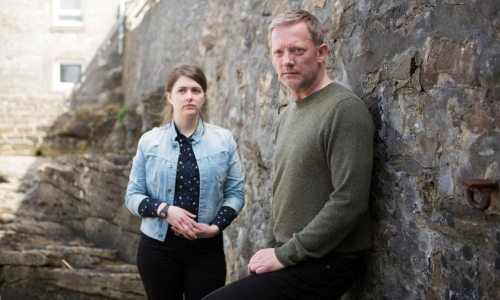 Alison O'Donnell and Douglas Henshall in Shetland