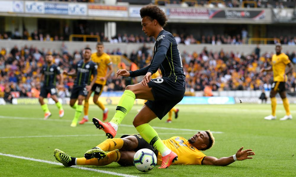 Leroy Sané's last Manchester City appearance was a stuttering cameo against Wolves.
