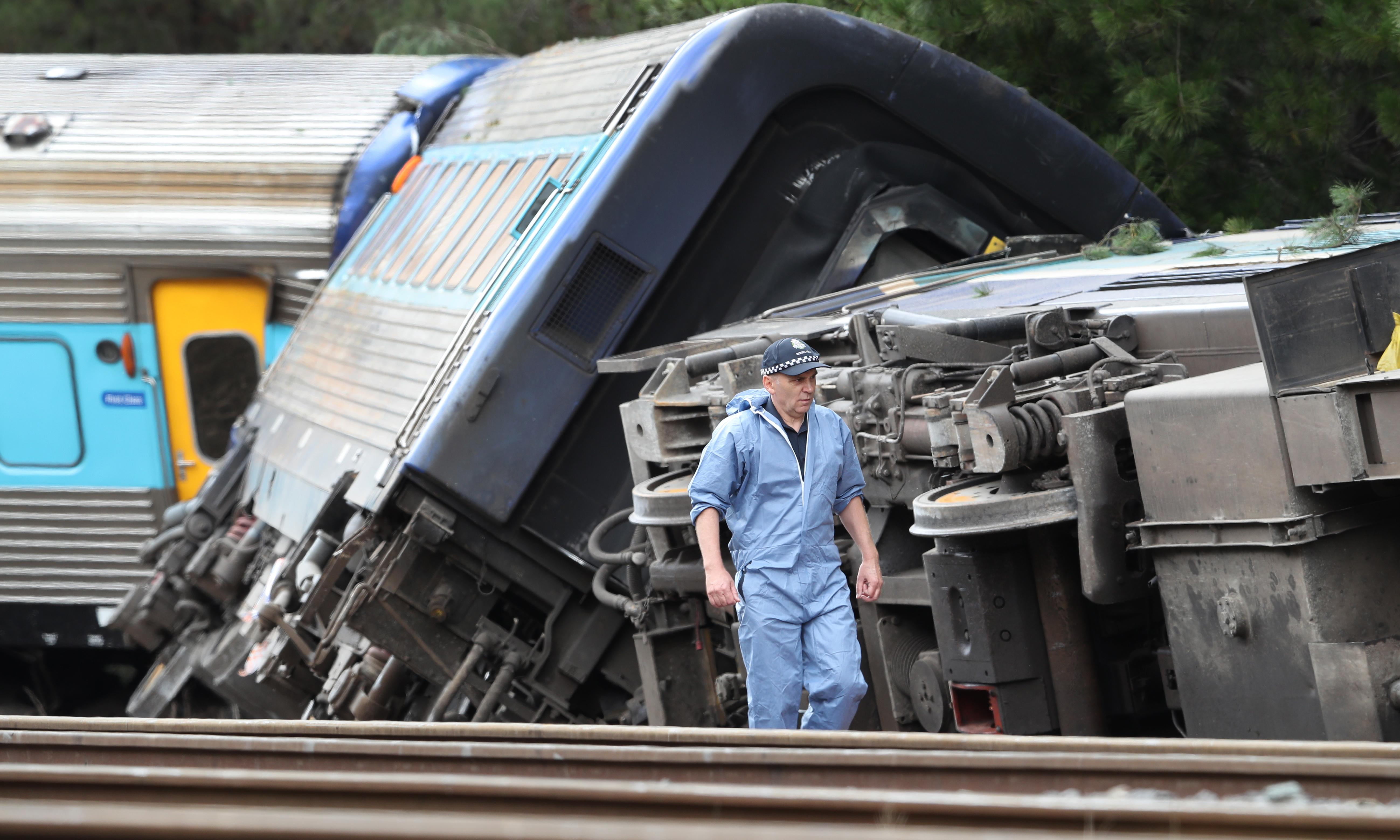 Victoria train crash: investigators to look into speed as possible factor in XPT derailment