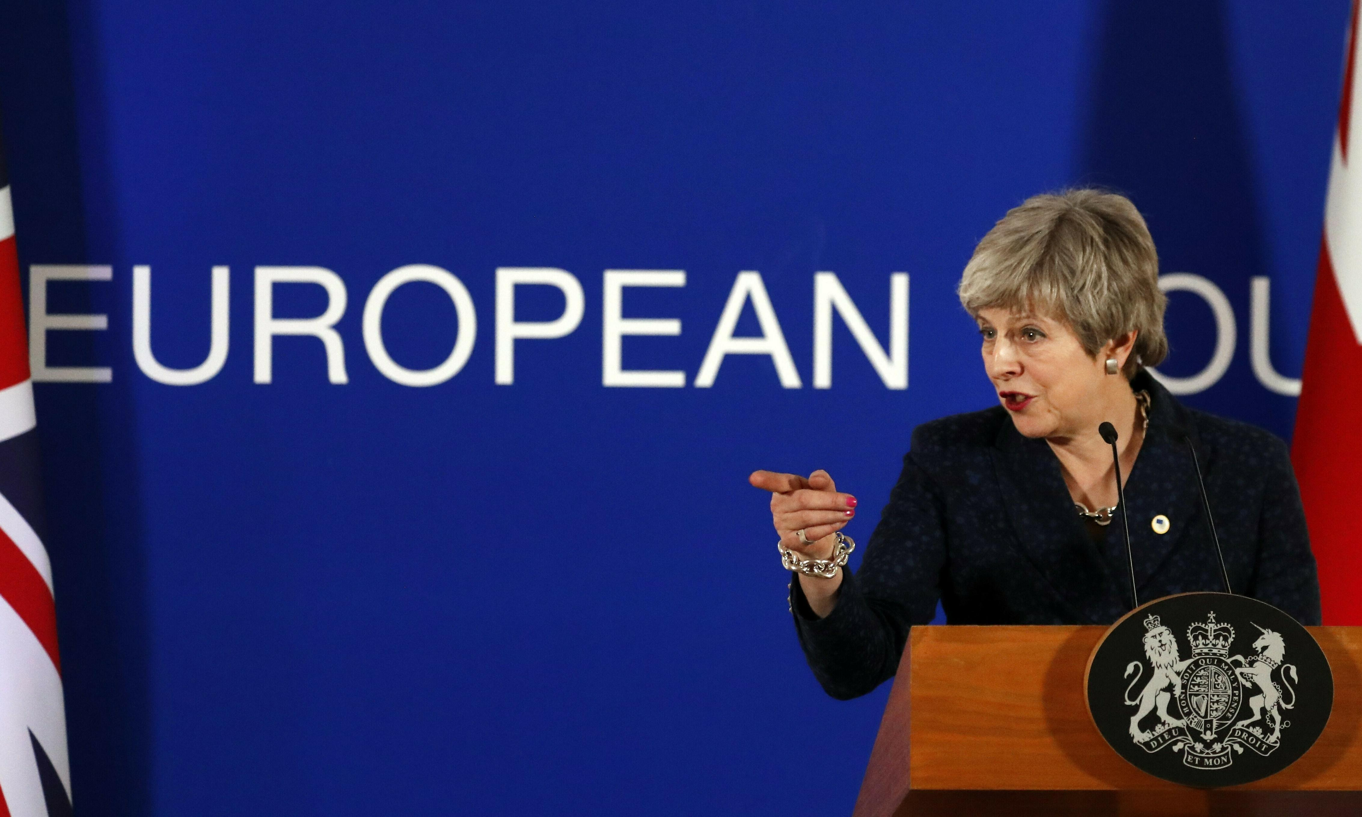 Why is Theresa May blaming everyone else for Brexit chaos? Projection