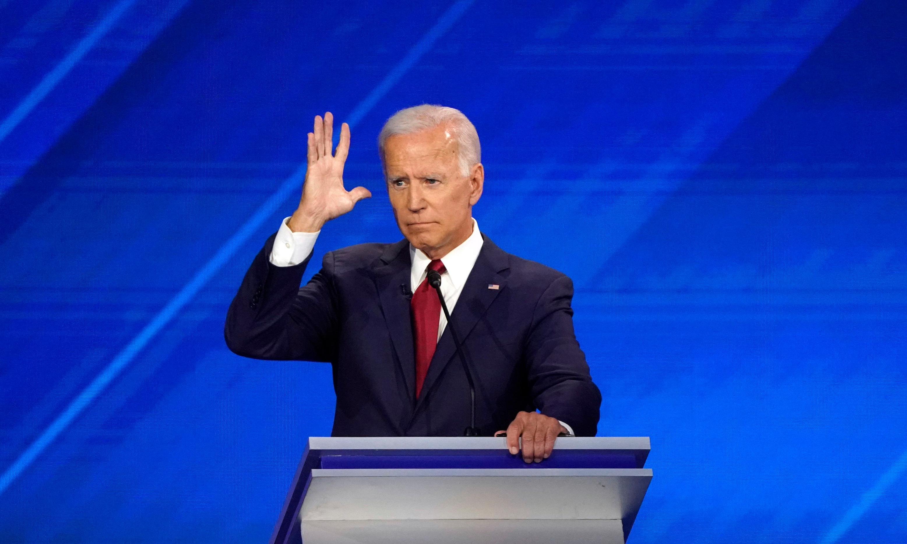 Joe Biden was both the strongest – and weakest – candidate on stage