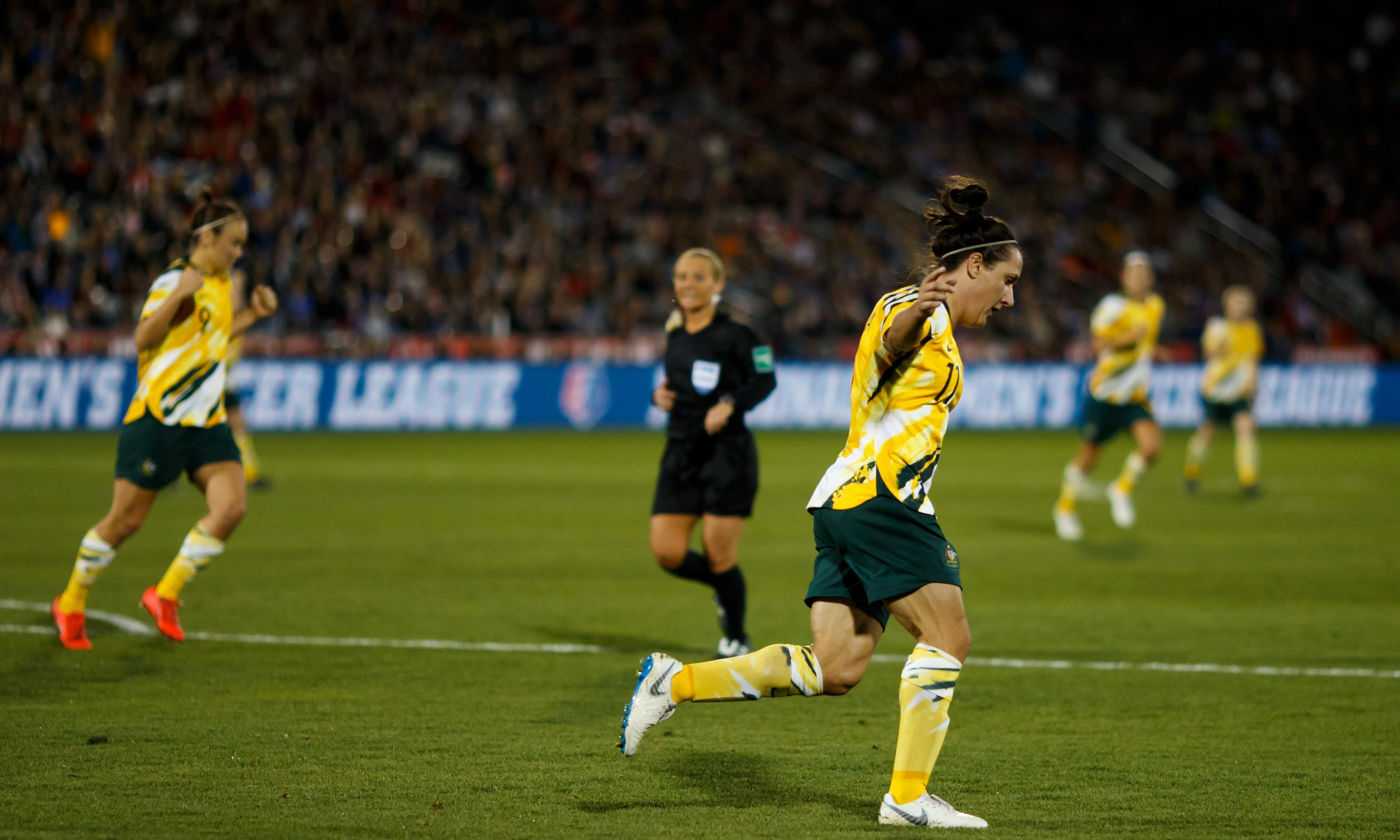 Matildas will be on the attack at Fifa World Cup