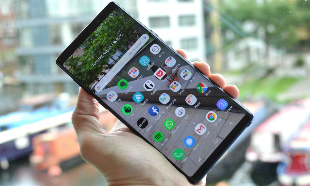 smartphone buyer's guide - samsung galaxy note 9