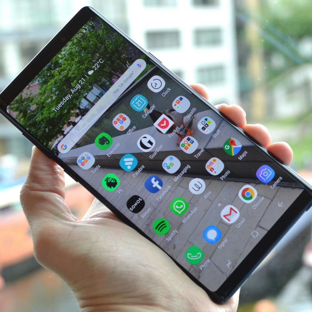 smartphone buyer's guide - galaksi note samsung 9