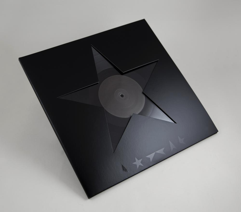 The sleeve design for David Bowie's Blackstar