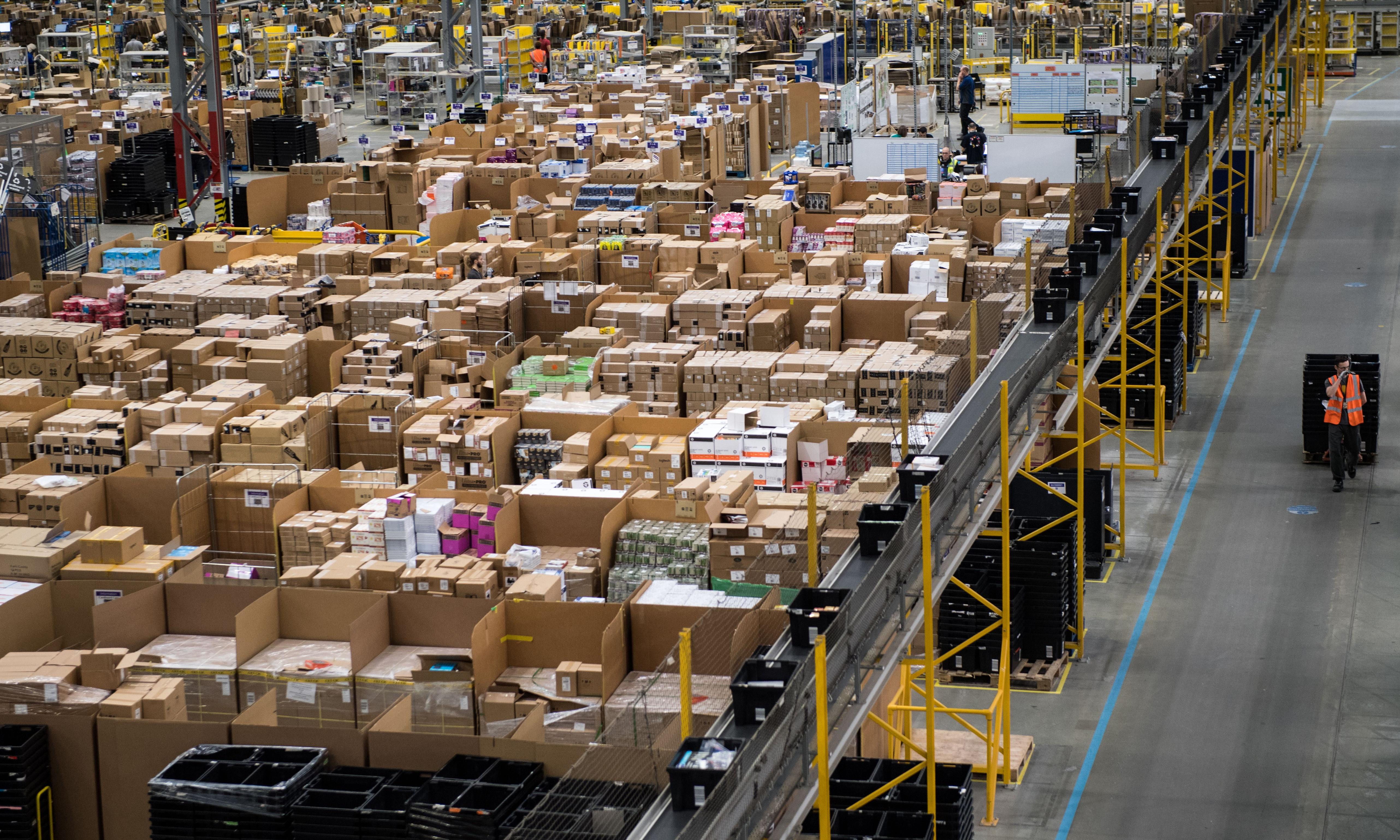 Amazon's 'worker cage' has been dropped, but its staff are not free