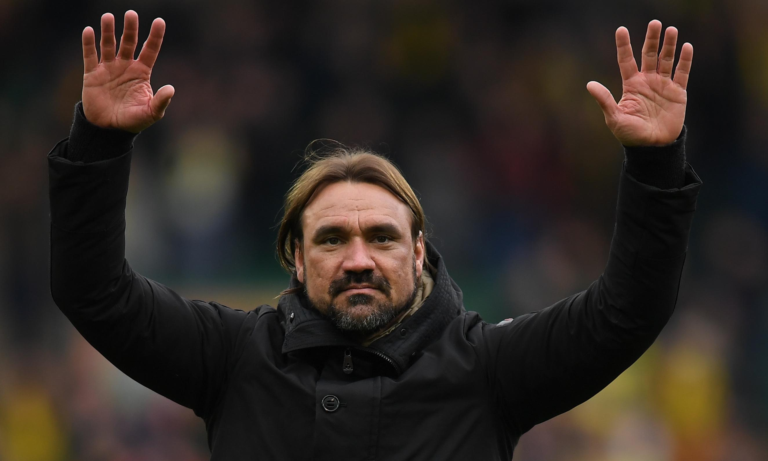 Daniel Farke in the saddle as Norwich gallop to the finishing line