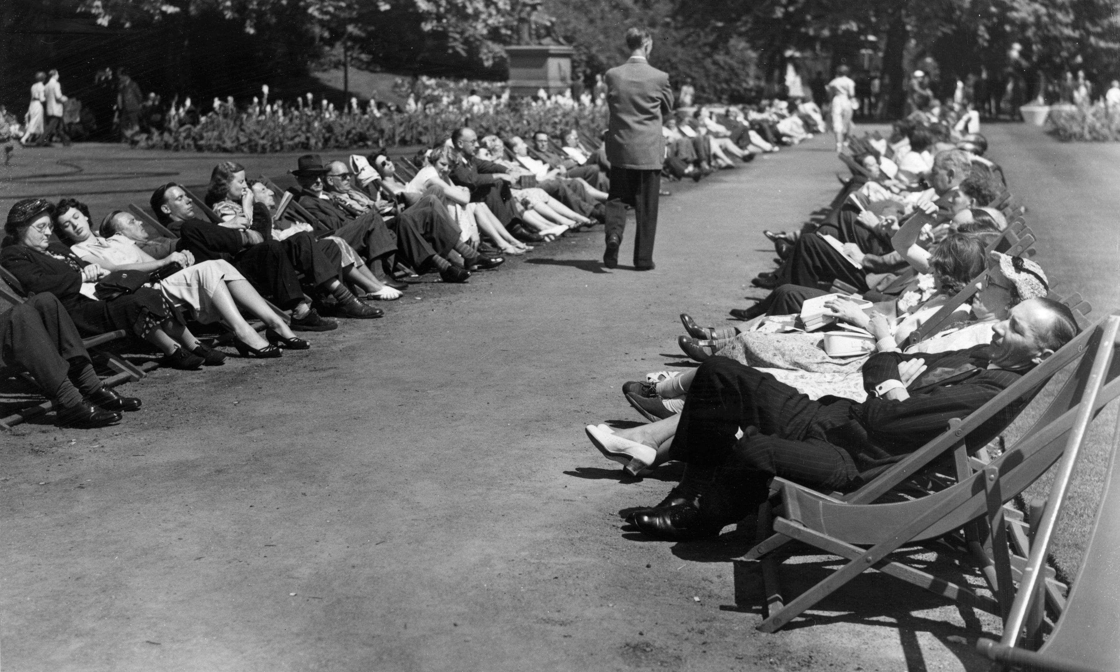 Siestas: the British way – archive, 11 July 1934