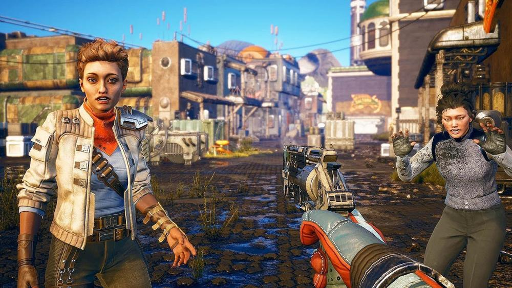 Freedom of choice: will you chat to people or terrorise them? ... The Outer Worlds