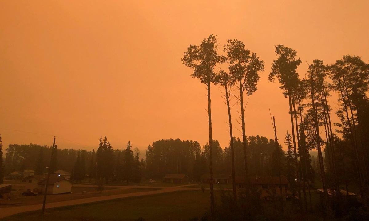 British Columbia declares state of emergency as over 500 wildfires burn