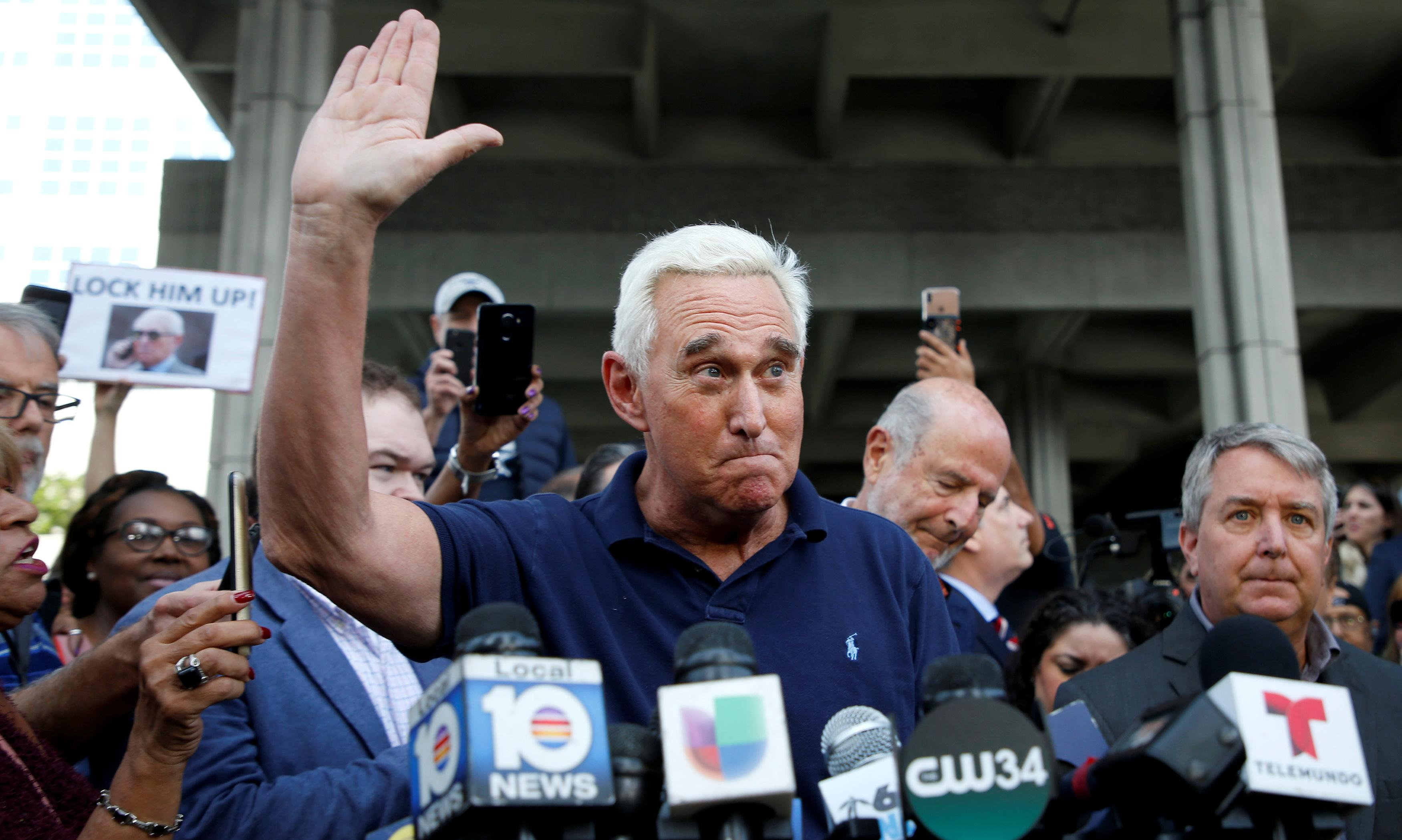 Like Trump's favorite steaks, Roger Stone is well and truly done