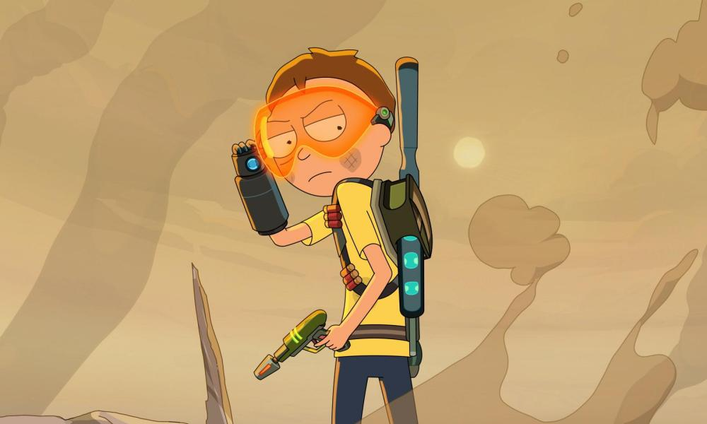 Morty in Rick and Morty