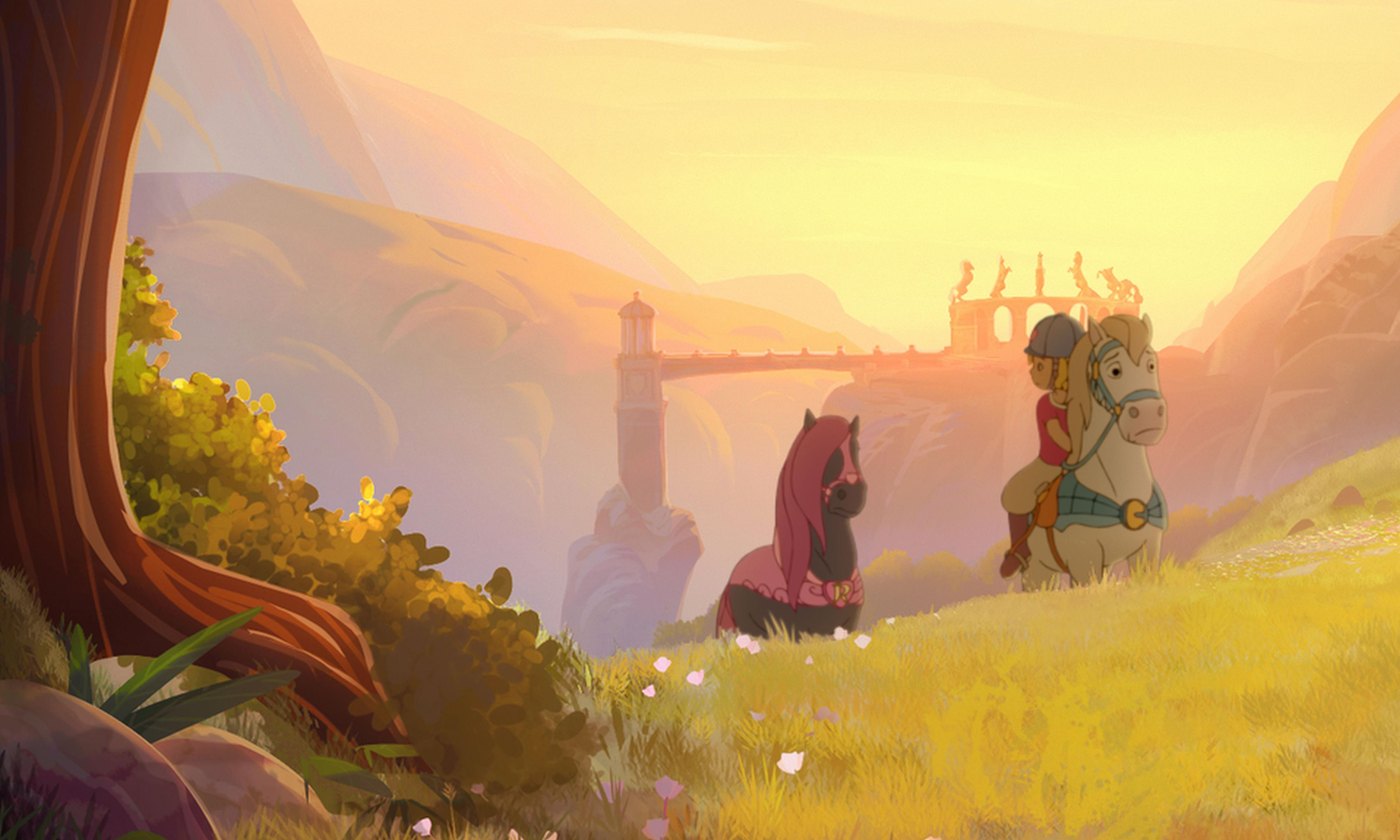 Princess Emmy review – plodding horse-whisperer animation