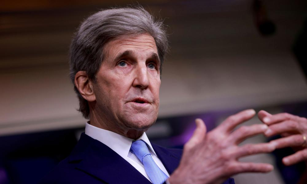 John Kerry, the US special envoy on climate